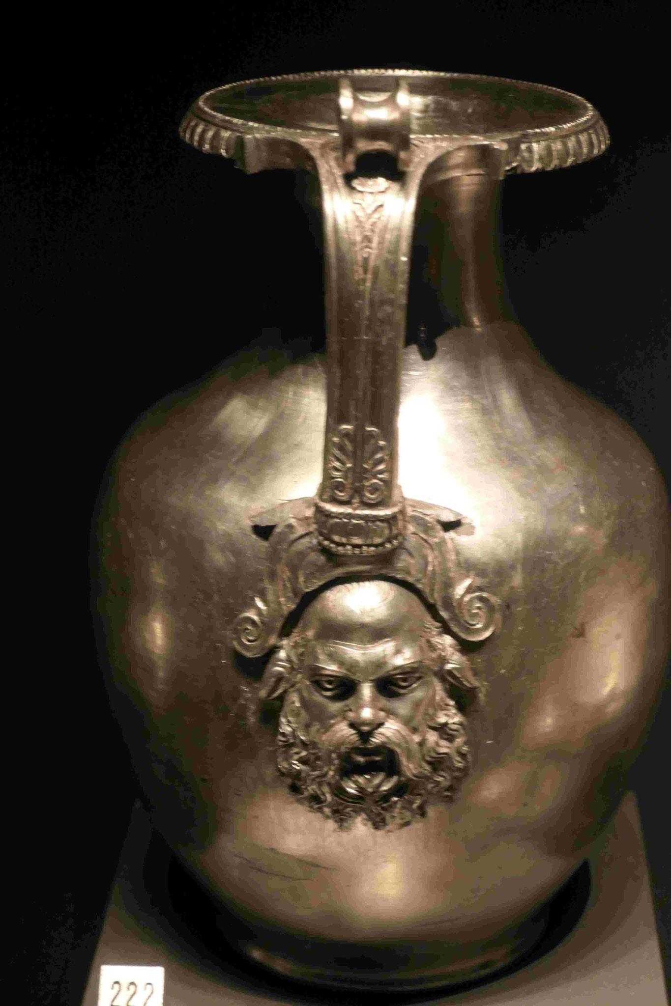 Silberkessel aus dem Grabhügel des Mazedonierkönigs Philipp II in Bergina