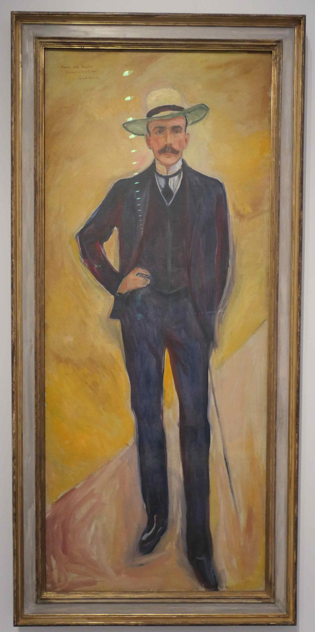Edvard Munch, Harry Graf Kessler, 1906, Nationalgalerie Berlin
