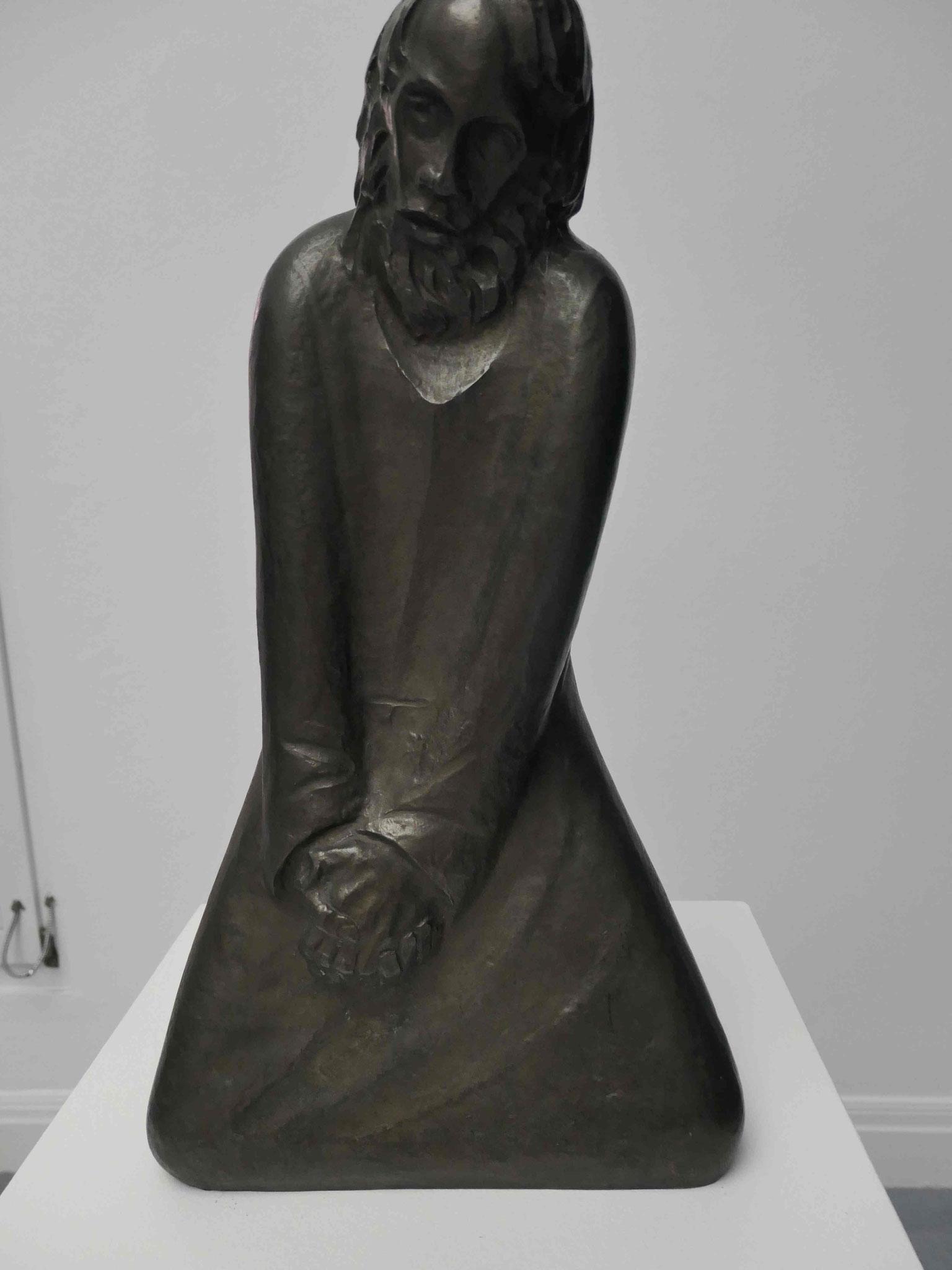 Ernst Barlach, Der Zweifler, 1931, Kunsthalle zu Kiel