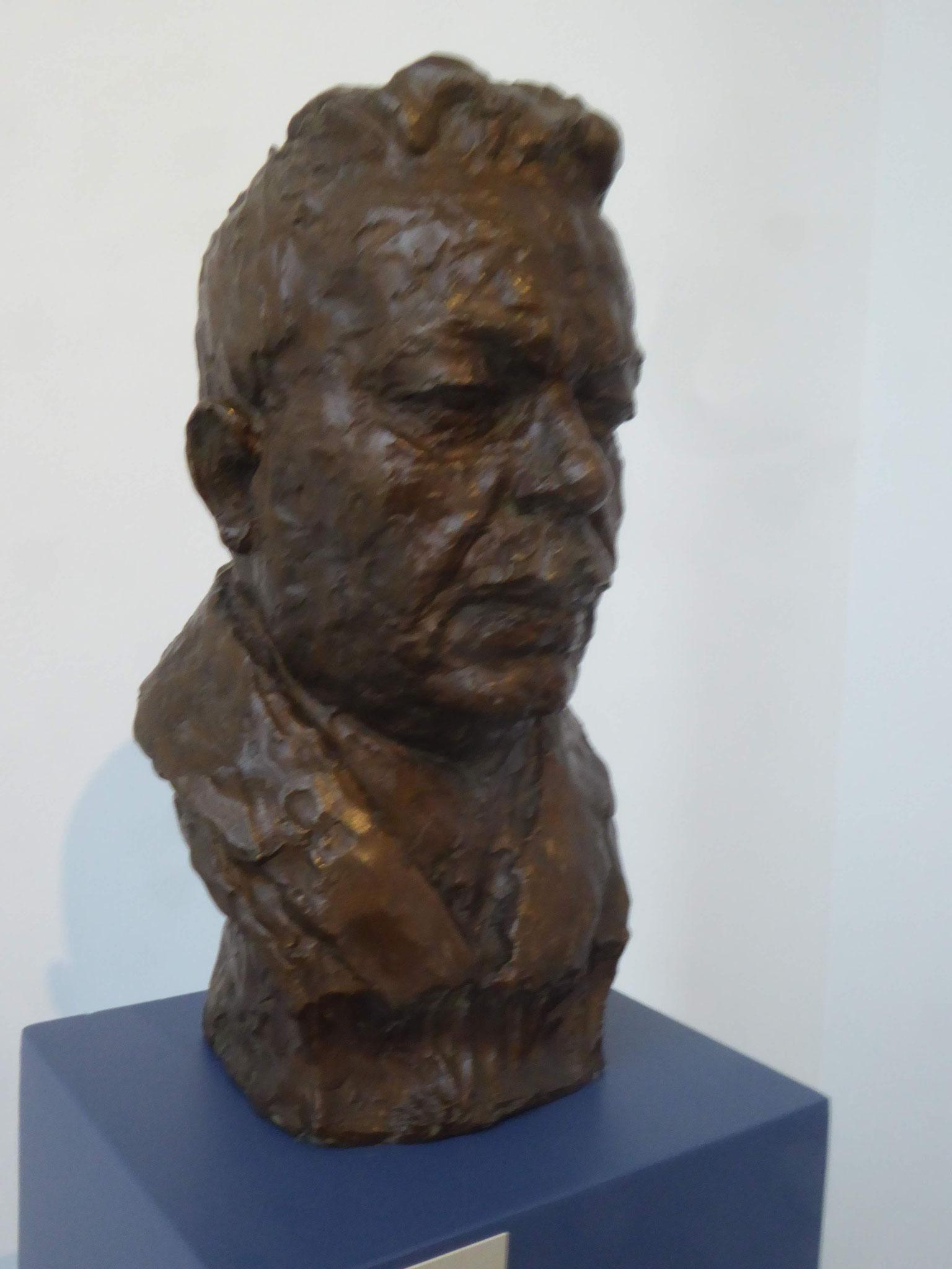 Georg Kolbe, Bildnis Friedrich Ebert, Kolbe-Museum, Berlin