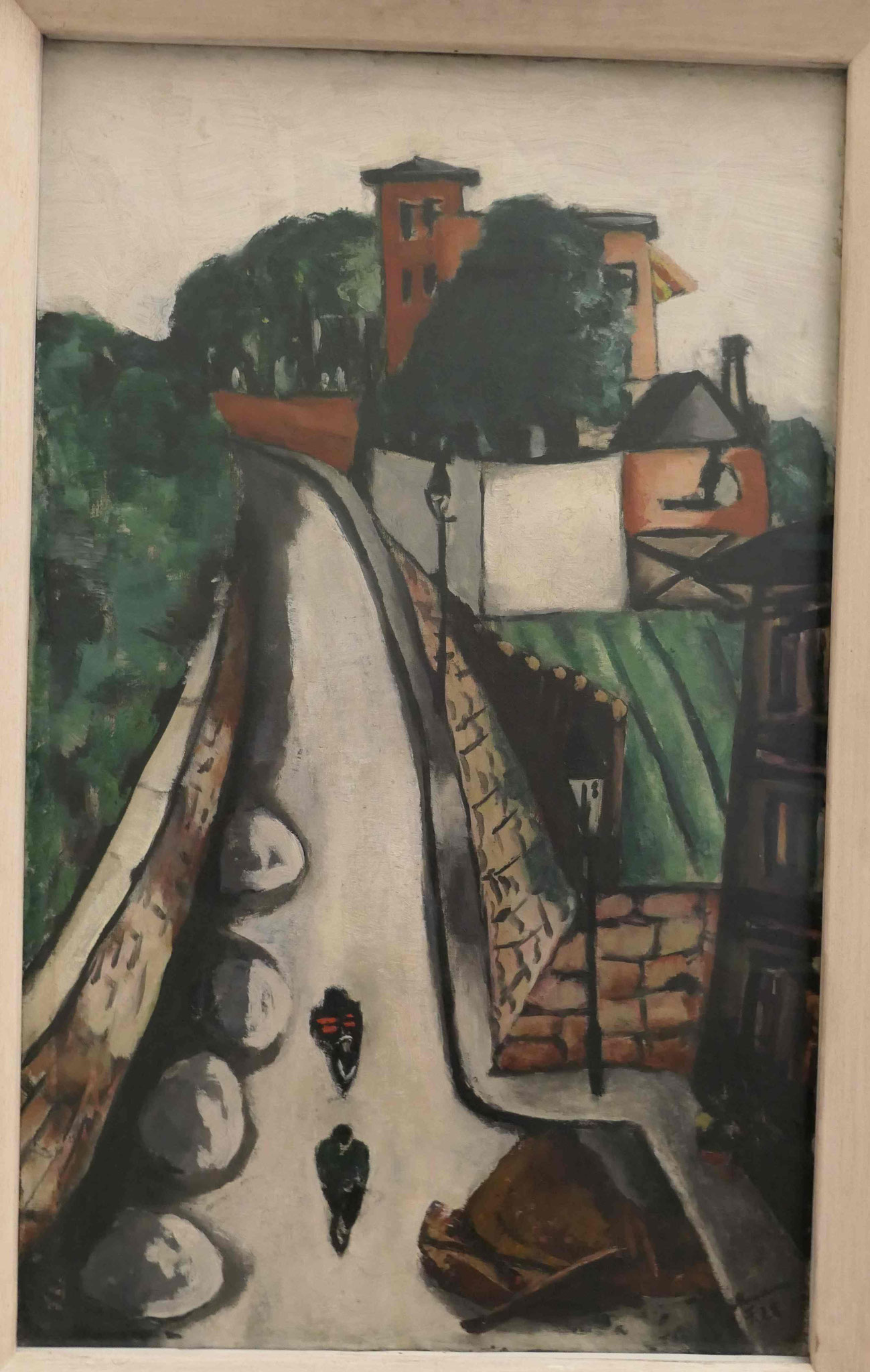 Max Beckmann, Der Wendelsweg in Frankfurt am Main, 1928, Kunsthalle zu Kiel