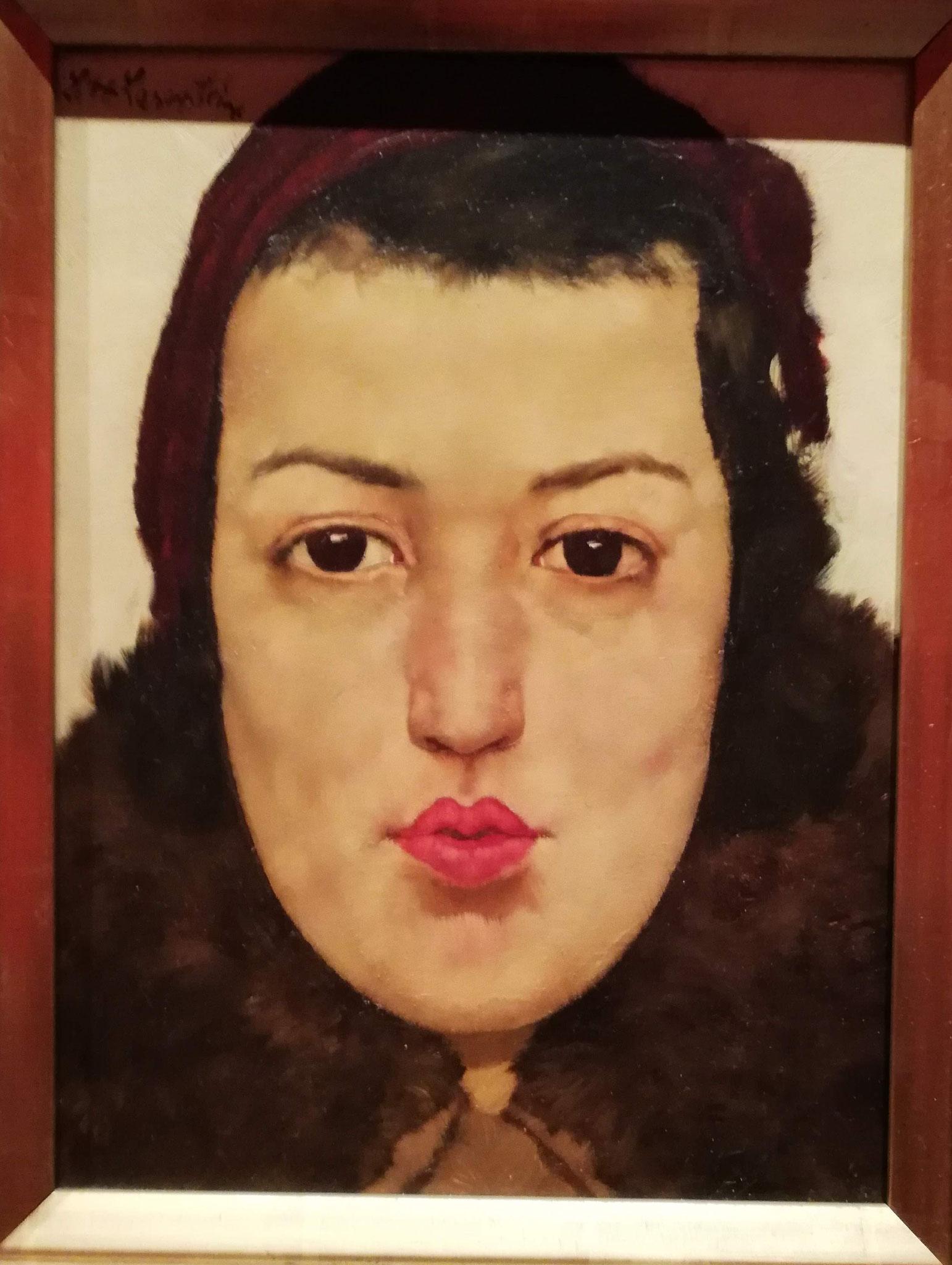 Lotte Laserstein, Russisches Mädchen, 1928