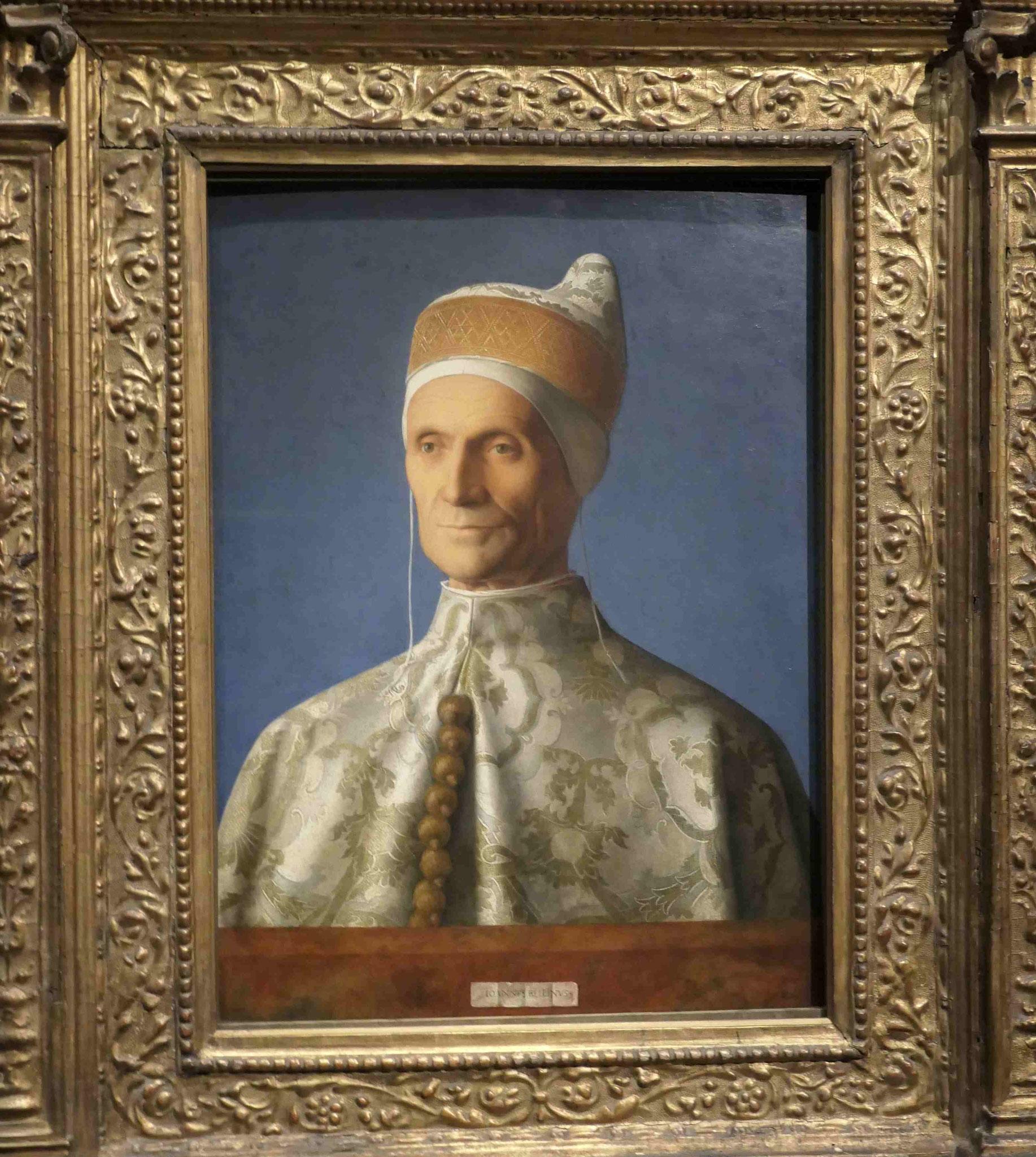 Giovanni Bellini, Der Doge Leonardo Loredan um 1501/02