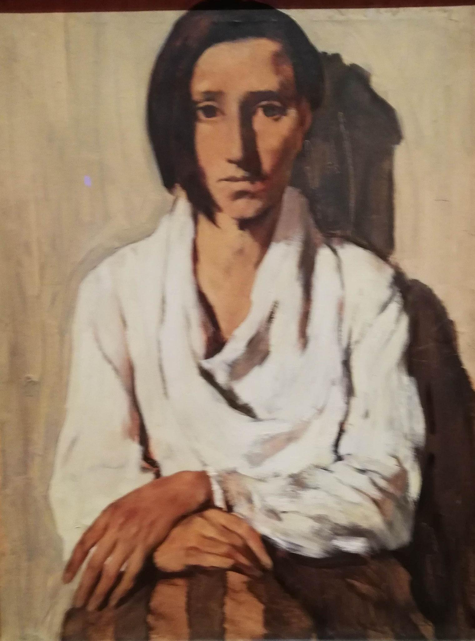 Lotte Laserstein, Spanische Frau, 1931