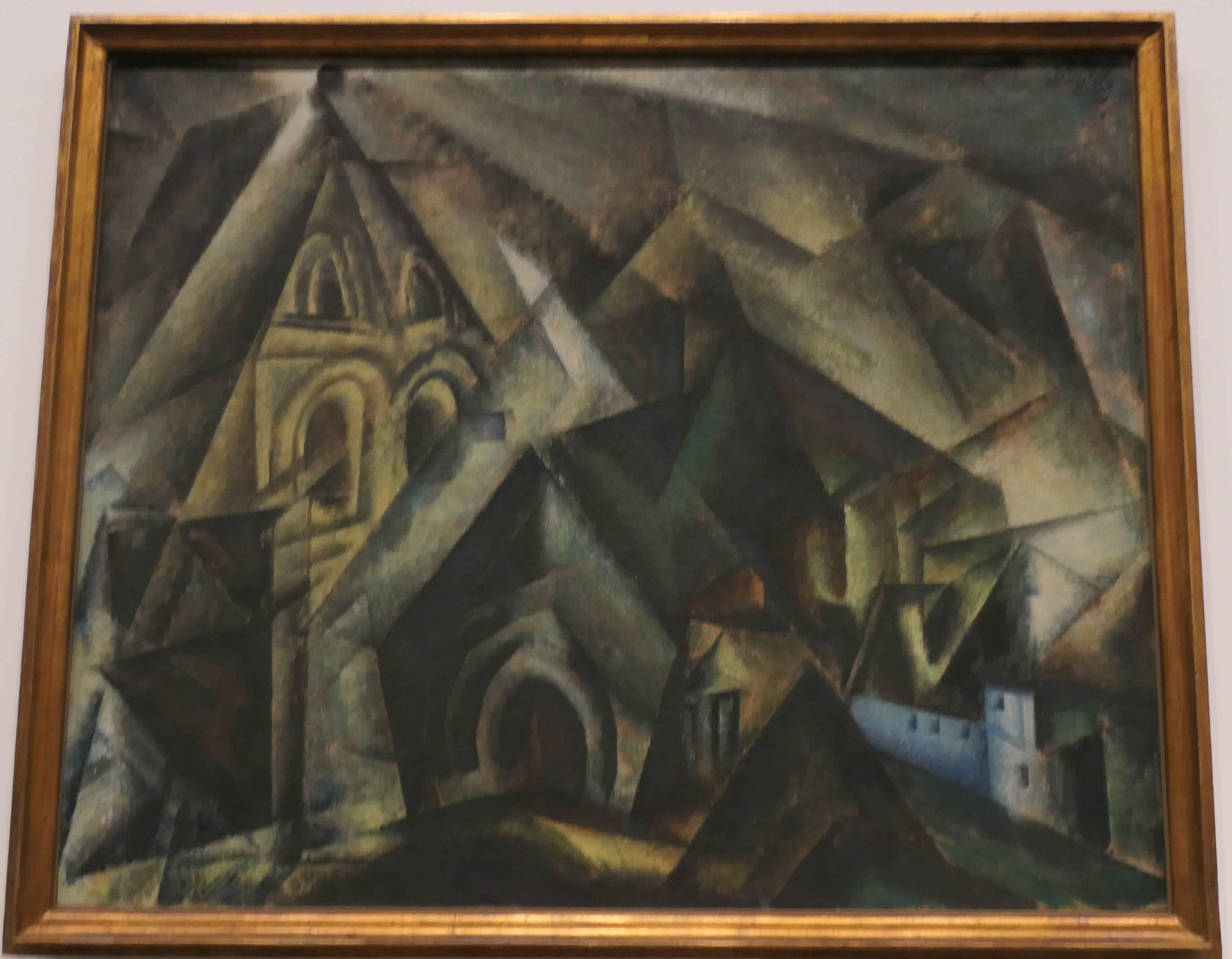 Lyonel Feininger, Eichelborn, 1920, Neue Nationalgalerie Berlin