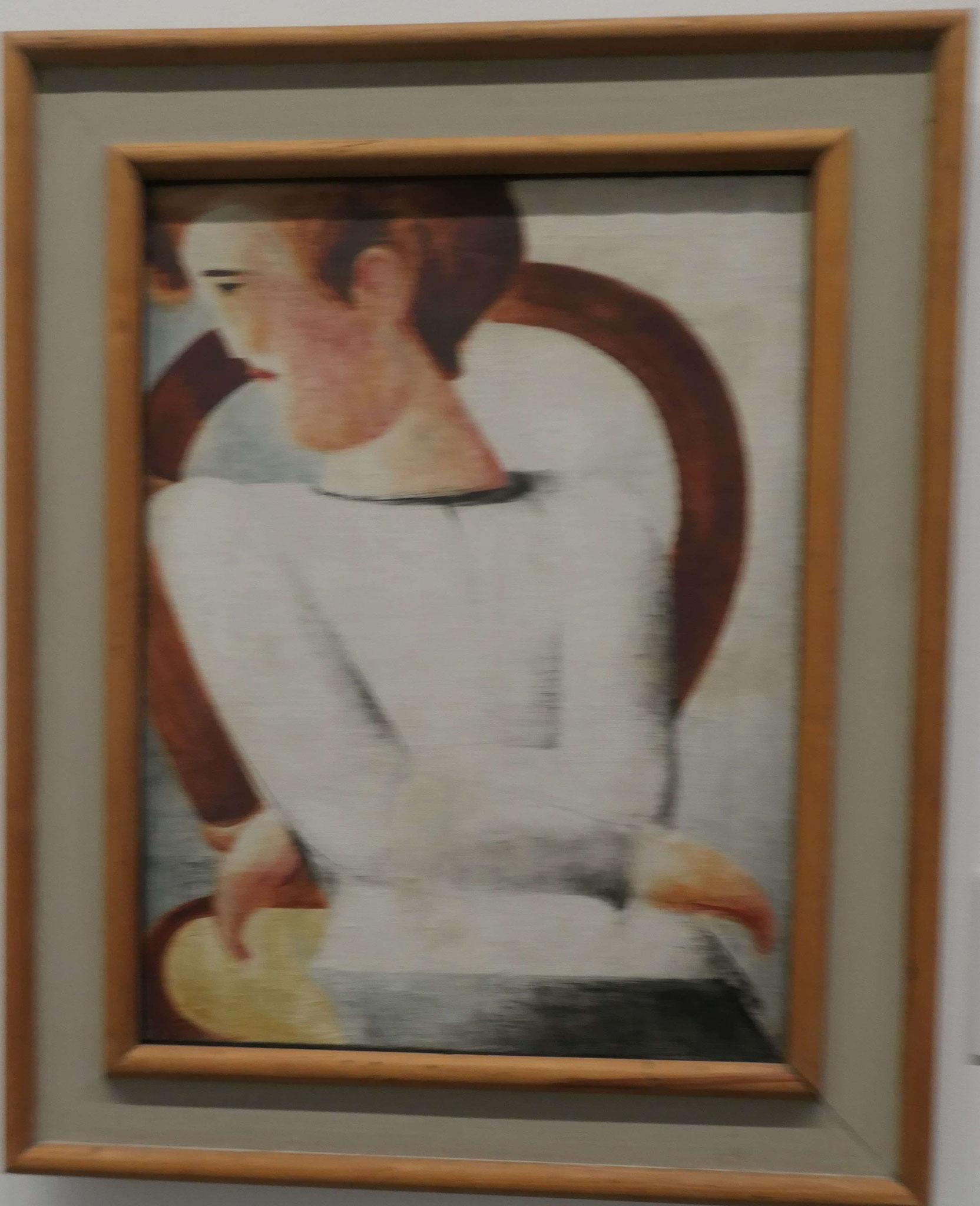 Oskar Schlemmer, Weißer Jüngling, 1930, Neue Nationalgalerie Berlin