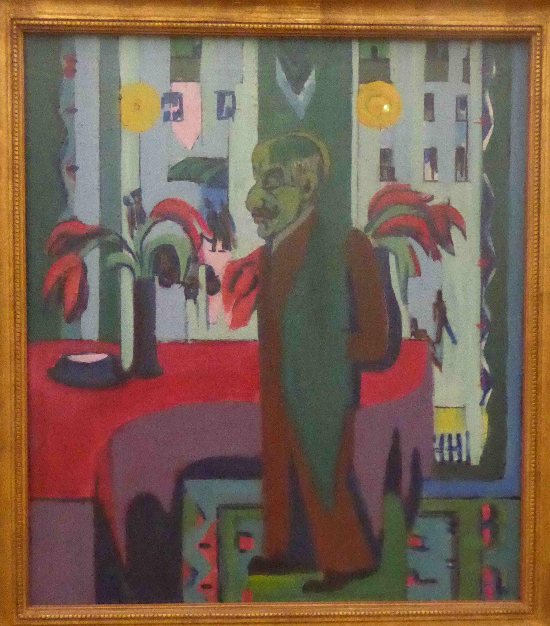 Portät Liebermann, Ernst Ludwig Kirchner, Neue Nationalgalerie Berlin