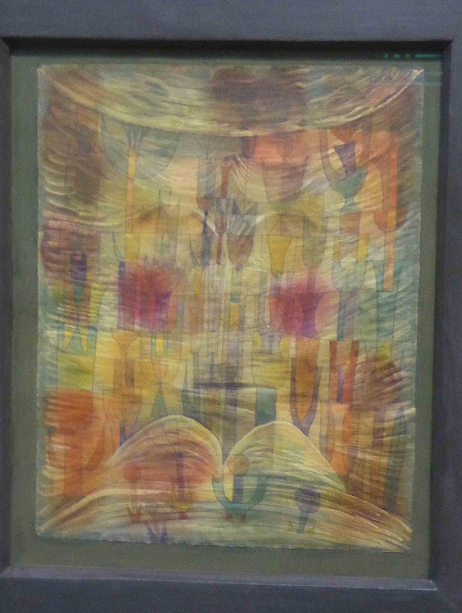 Paul Klee, Phantastische Flora, 1922,  Museum Moritzburg, Halle