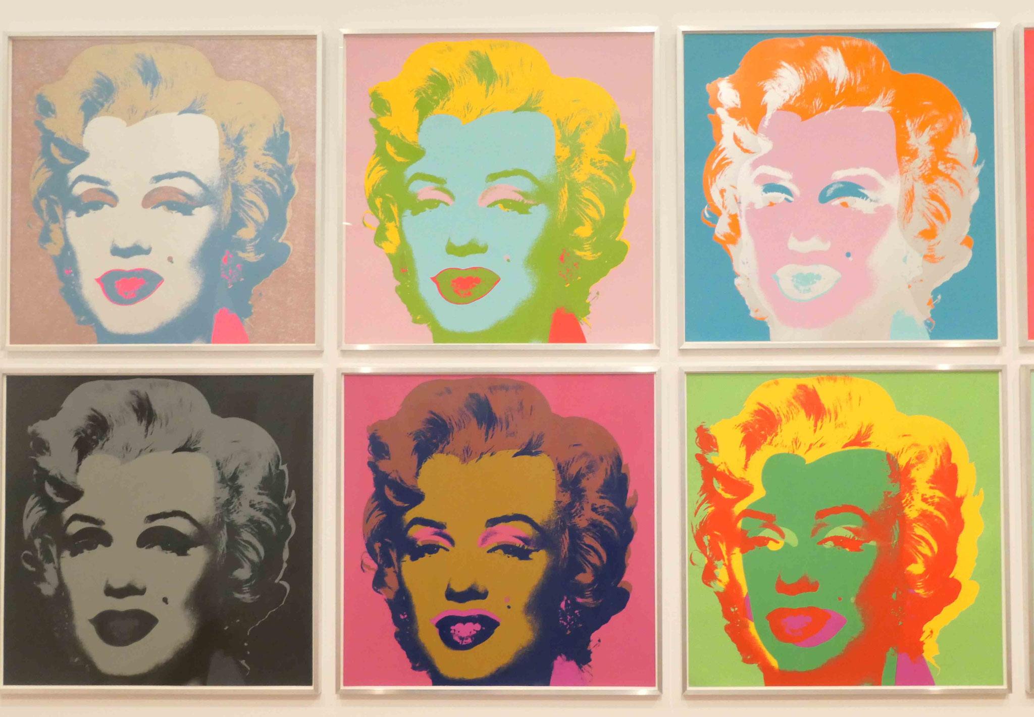 Andy Warhol, Marilyn, Serie von Siebdrucken, 1967, Kunsthandel Berlin