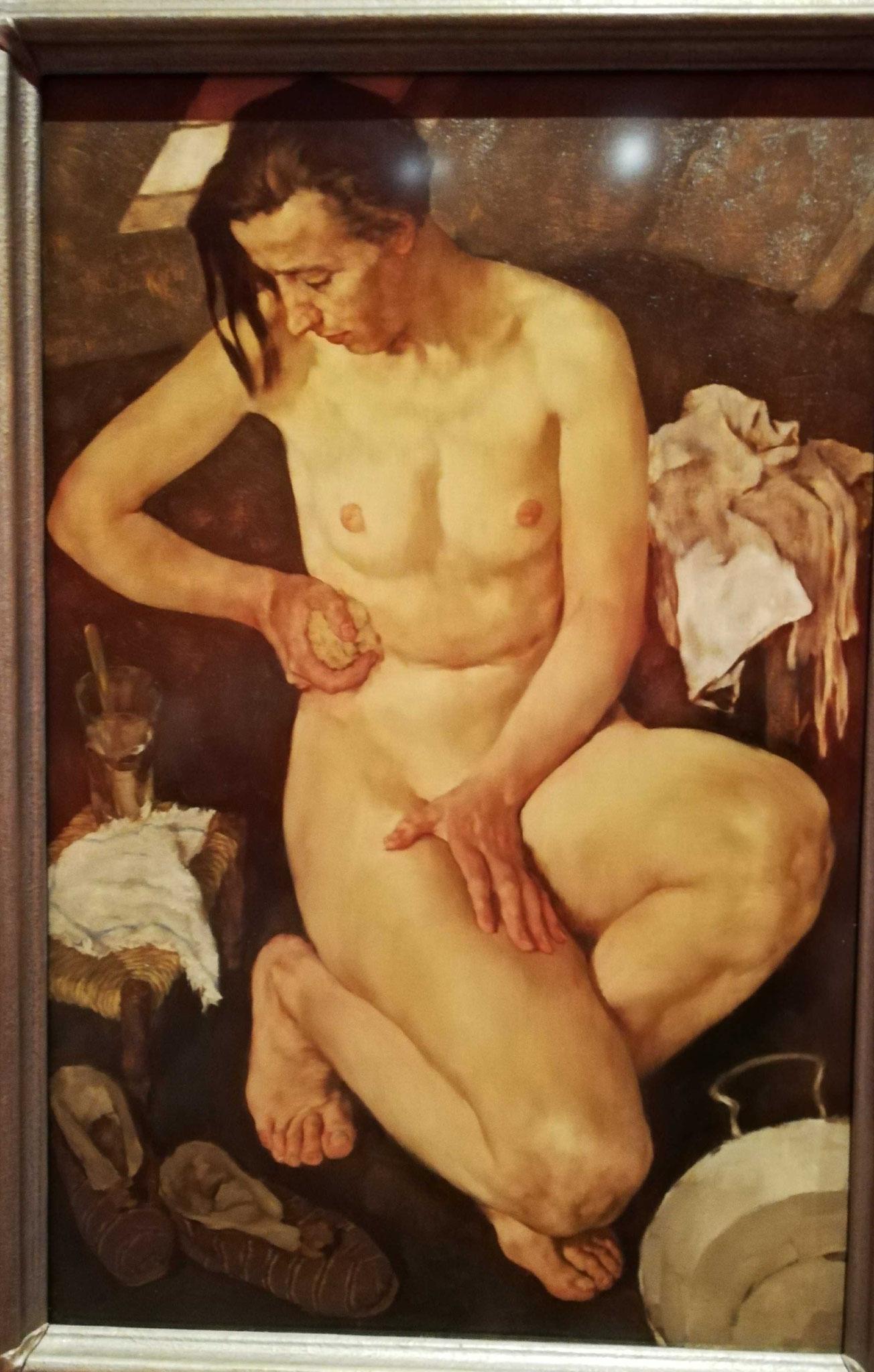 Lotte Laserstein, Morgentoilette, 1930