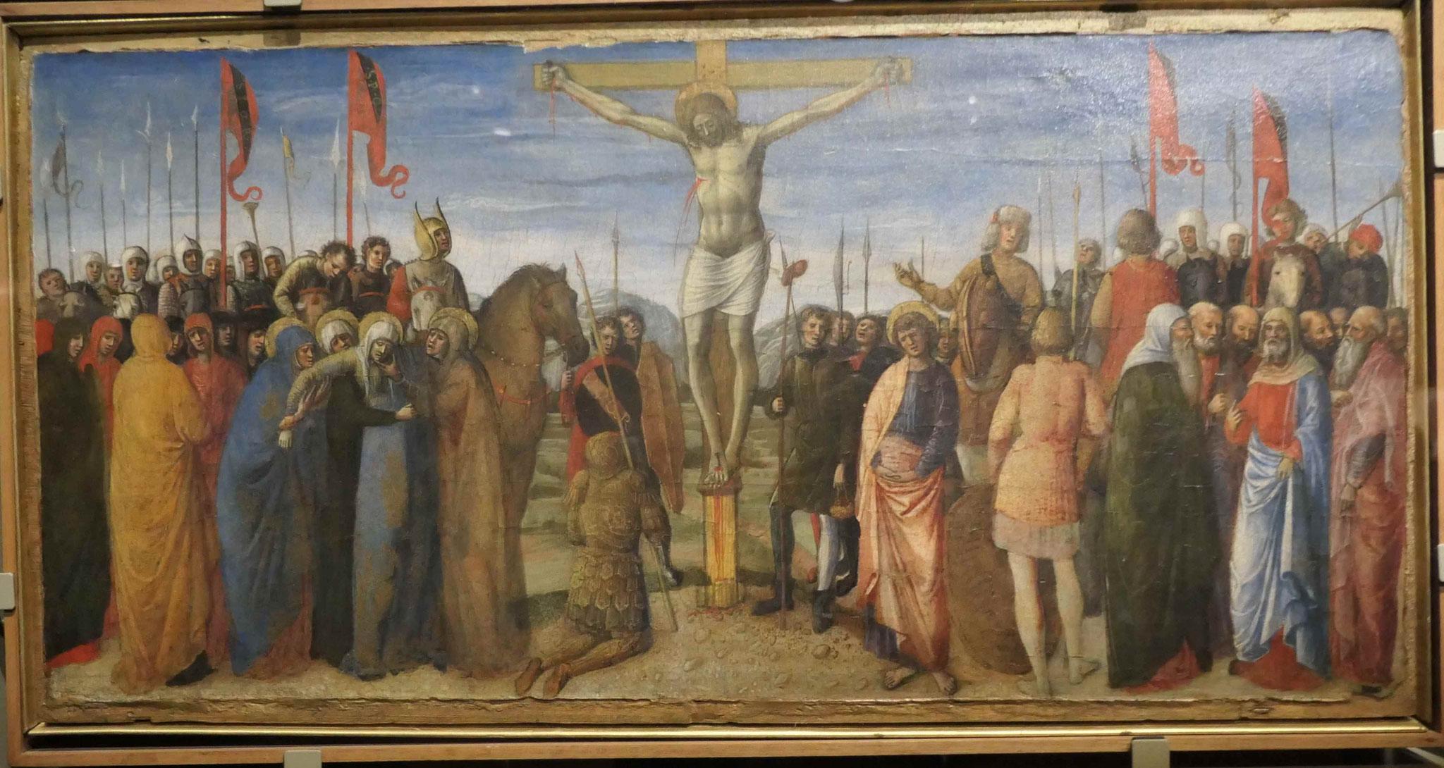 Jacobo,Giovanni und Gentile Bellini, Die Kreuzigung, um 1459/60