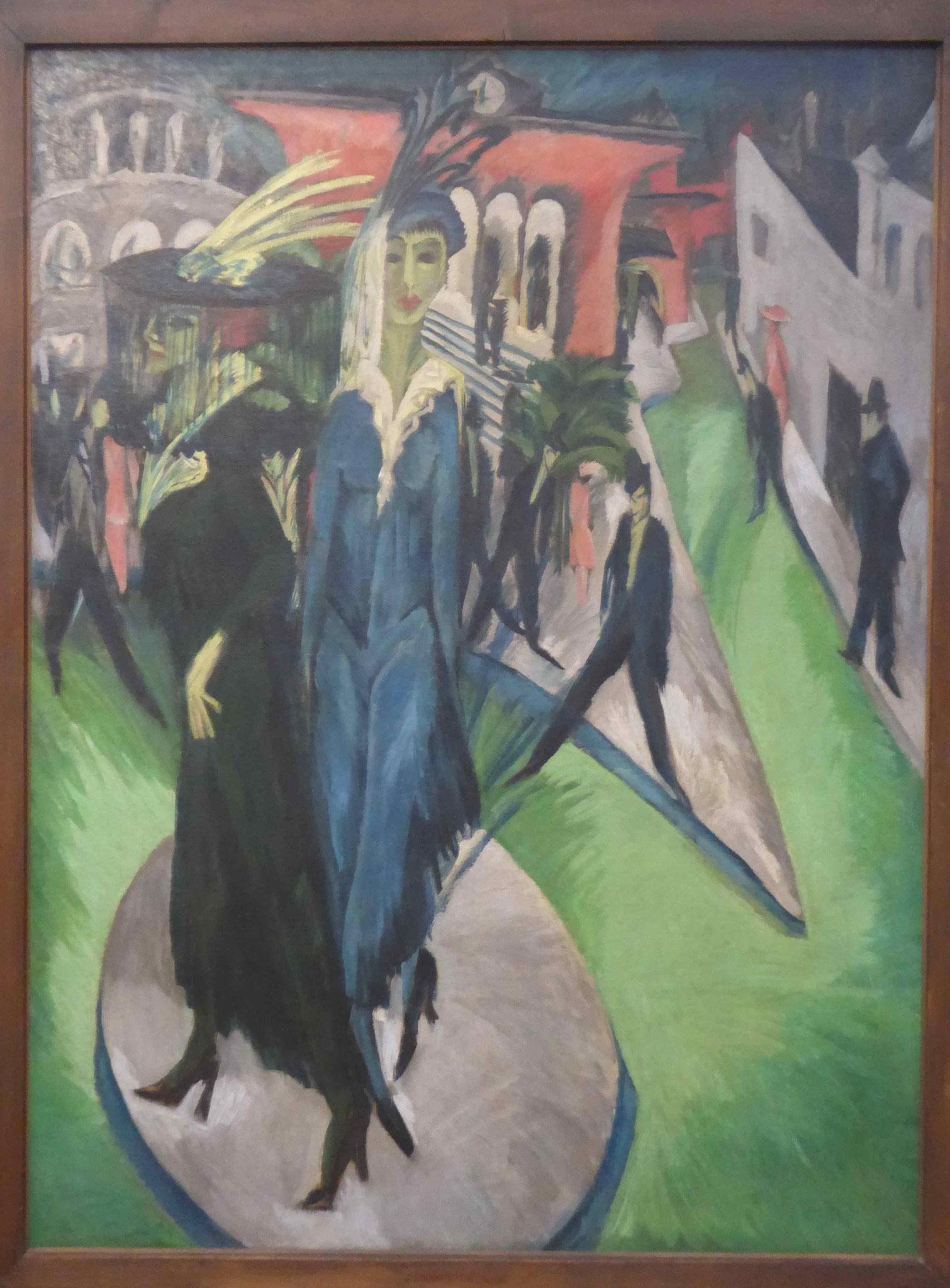 Ernst Ludwig Kirchner, Im Ex, Nationalgalerie Beerlin