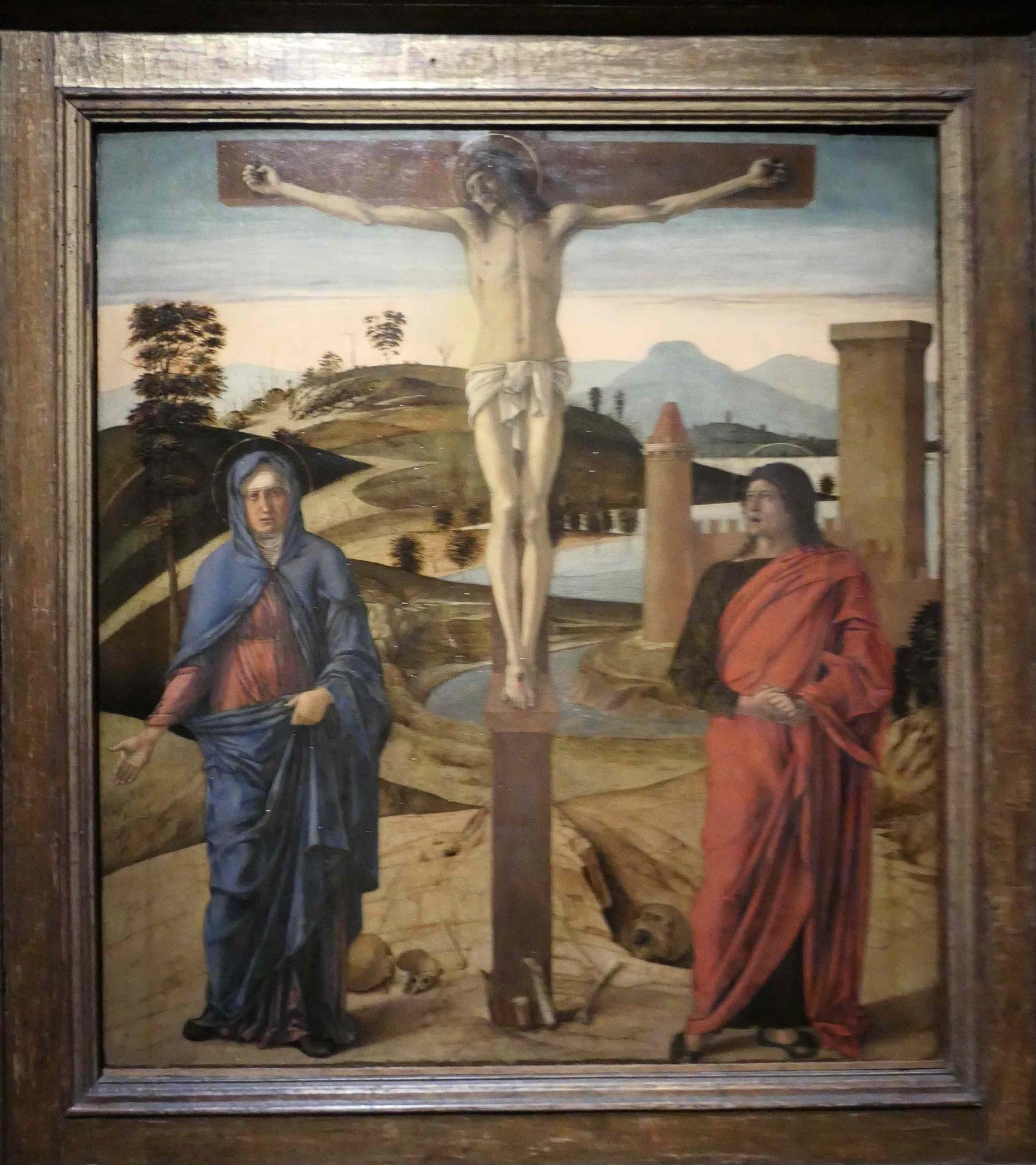 Giovanni Bellini, Die Kreuzigung, um 1465