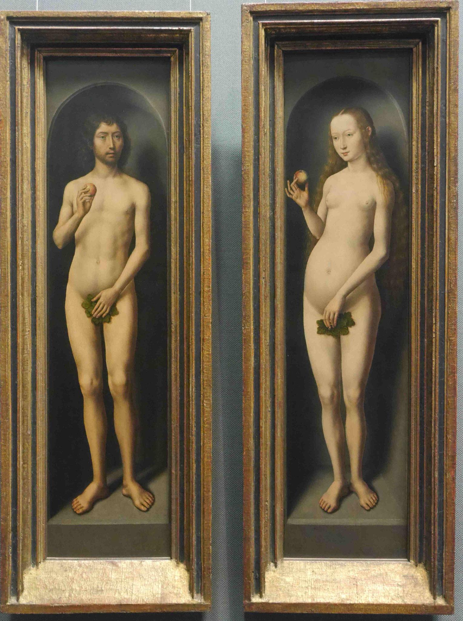 Cucas Cranach d.Ä. :Adam und Eva, Museum für Bildende Kunst, Leipzig
