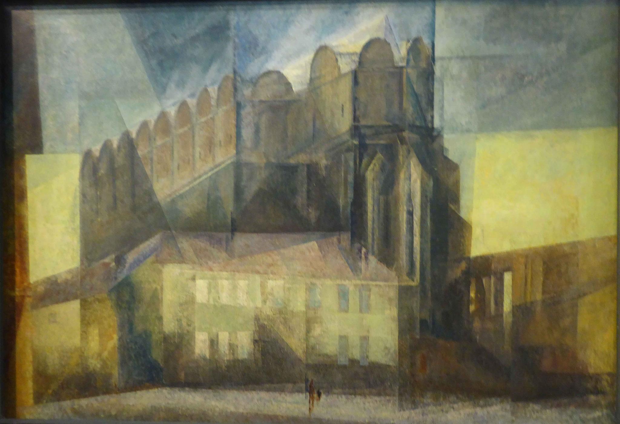 Lyonel Feininger, Der Dom in Halle, 1931,  Museum Moritzburg, Halle