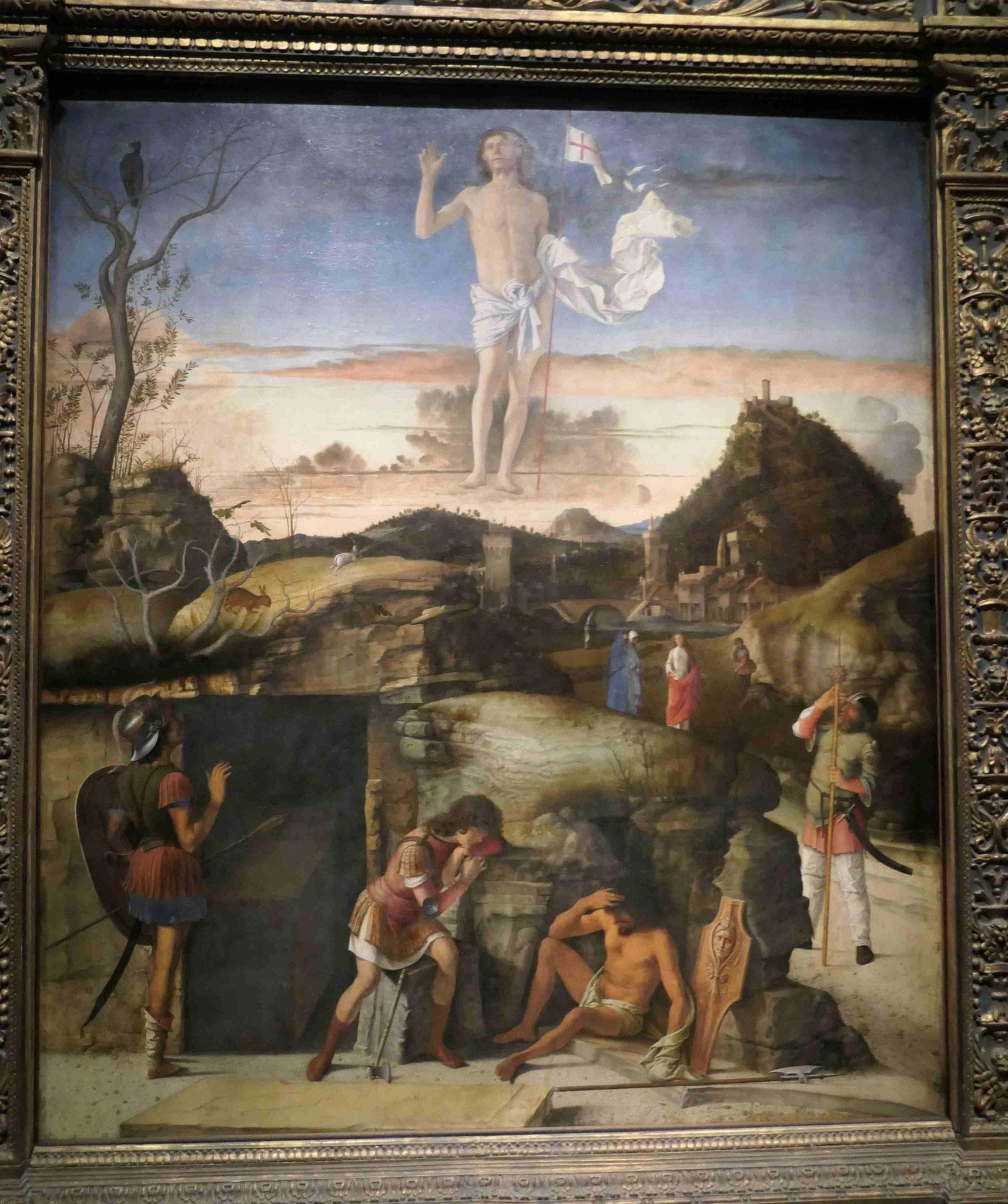 Giovanni Bellini, Die Auferstehung Christi, 1475/79, Gemäldegalerie Berlin