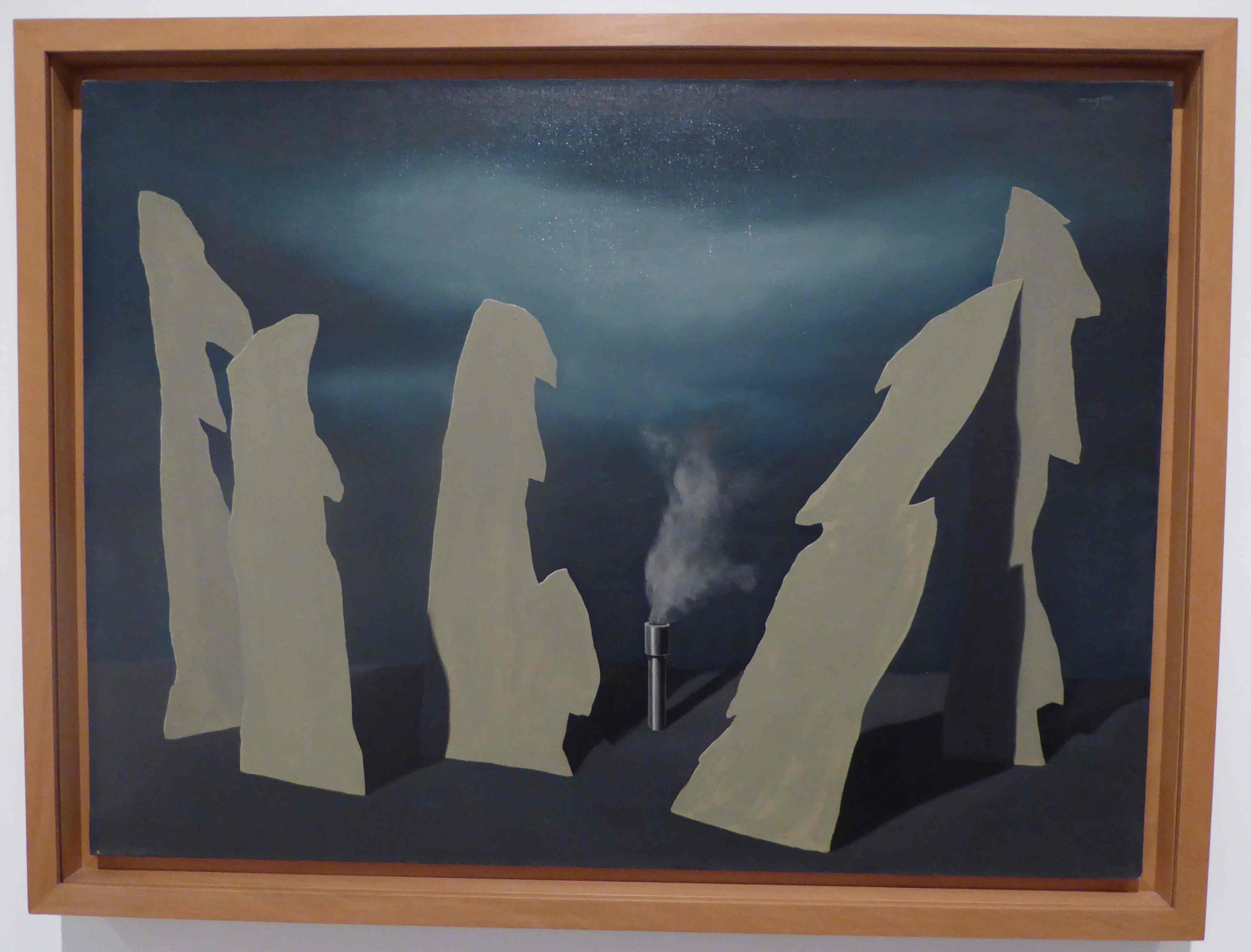 René Magritte, Museo Reina Sofia, Madrid, Spanien