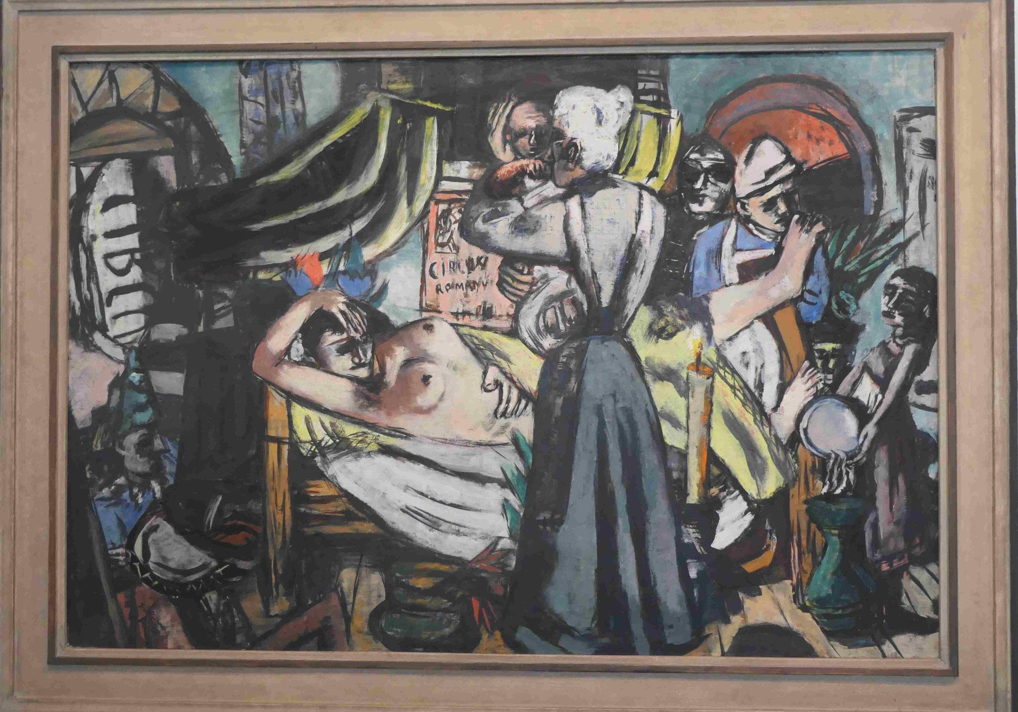 Max Beckmann, Geburt, 1937, Neue Nationalgalerie Berlin