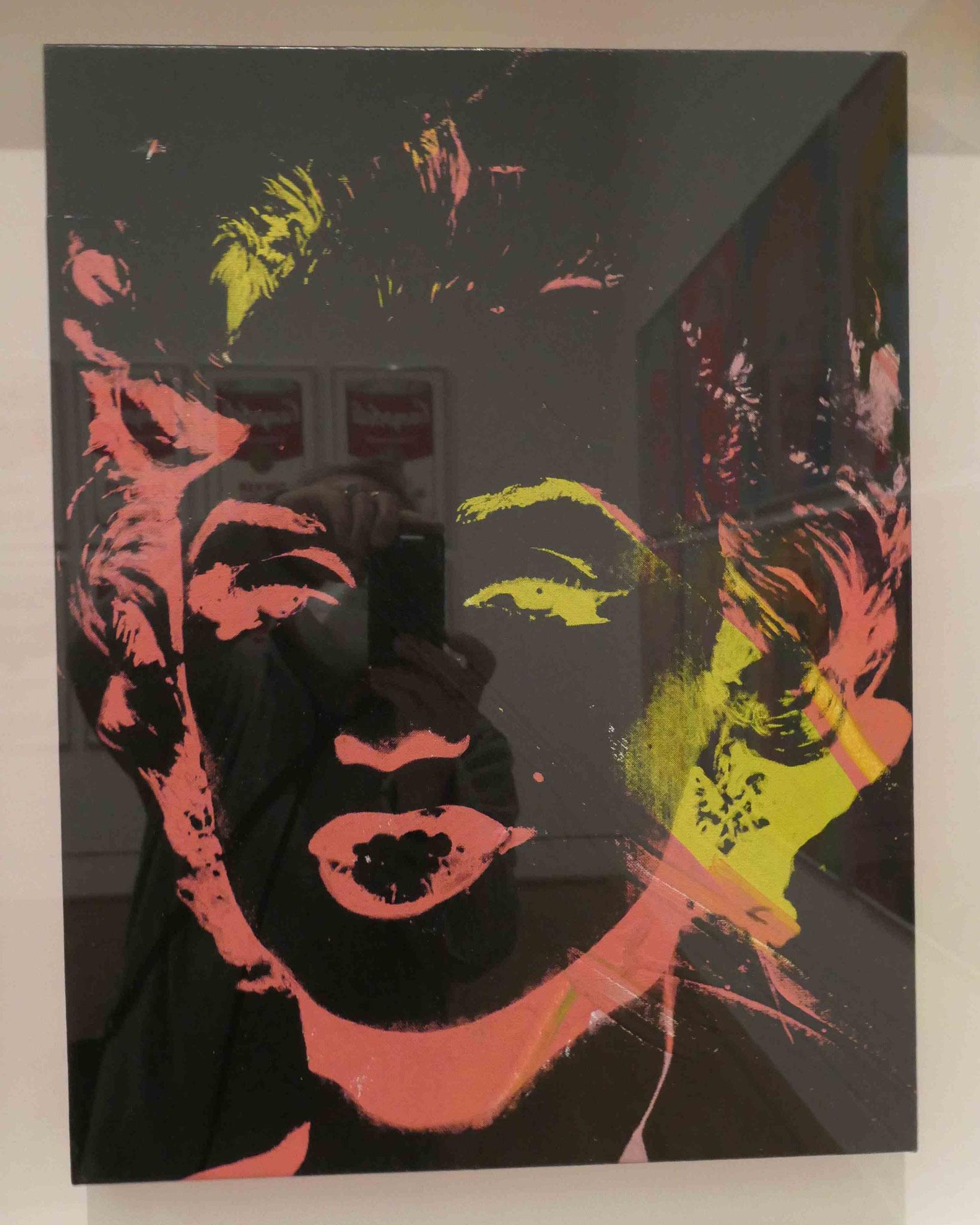 Andy Warhol, Multicolored Marilyn, Siebdruck und Acryl auf Leinwand, 1979 -1986, Nationalgalerie Berlin