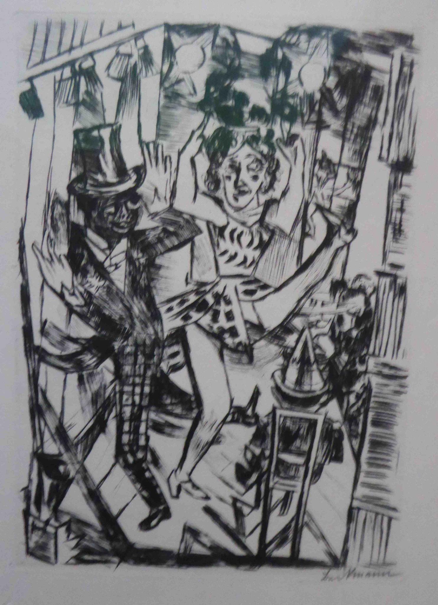 "Max Beckmann, ""Welttheater"", Museum Barberini, Potsdam"