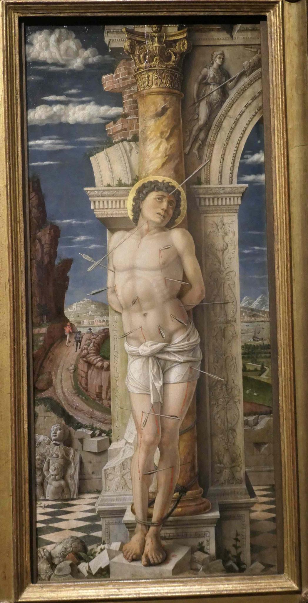 Andrea Mantegna, Heiliger Sebastian, um 1459/60