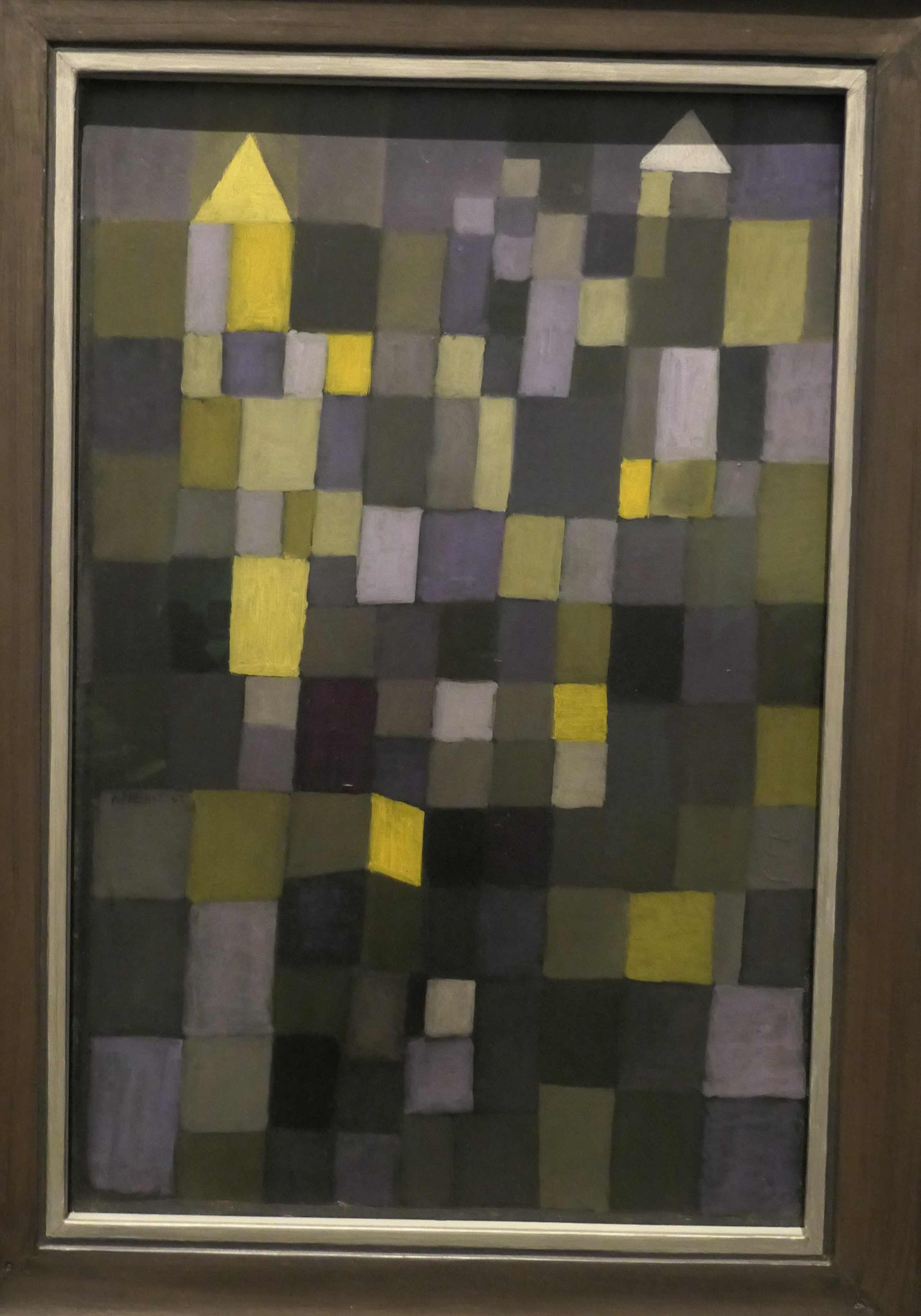 Paul Klee, Architektur, 1924, Nationalgalerie Berlin