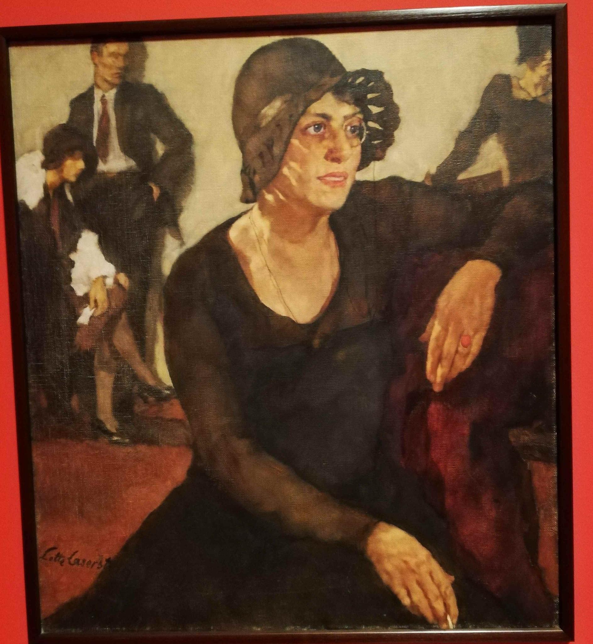 Lotte Laserstein, Polly Tieck, 1929