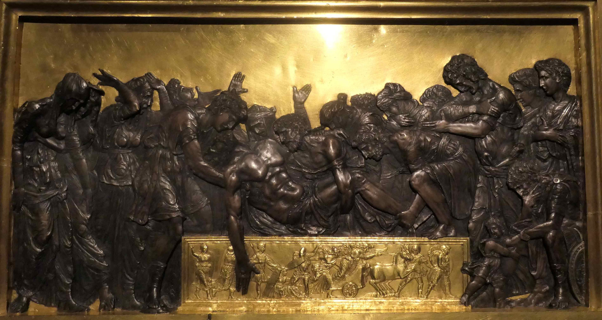 Andrea Mantegna, Die Grablegung Christi, um 1470/80