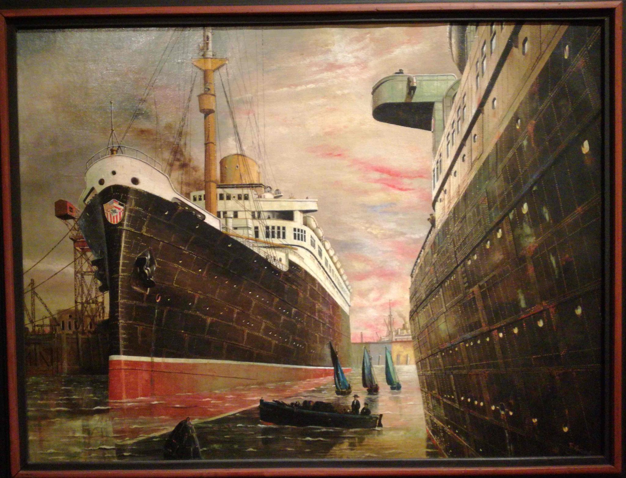 Franz Radziwill, Der Hafen II, 1930, Neue Nationalgalerie Berlin