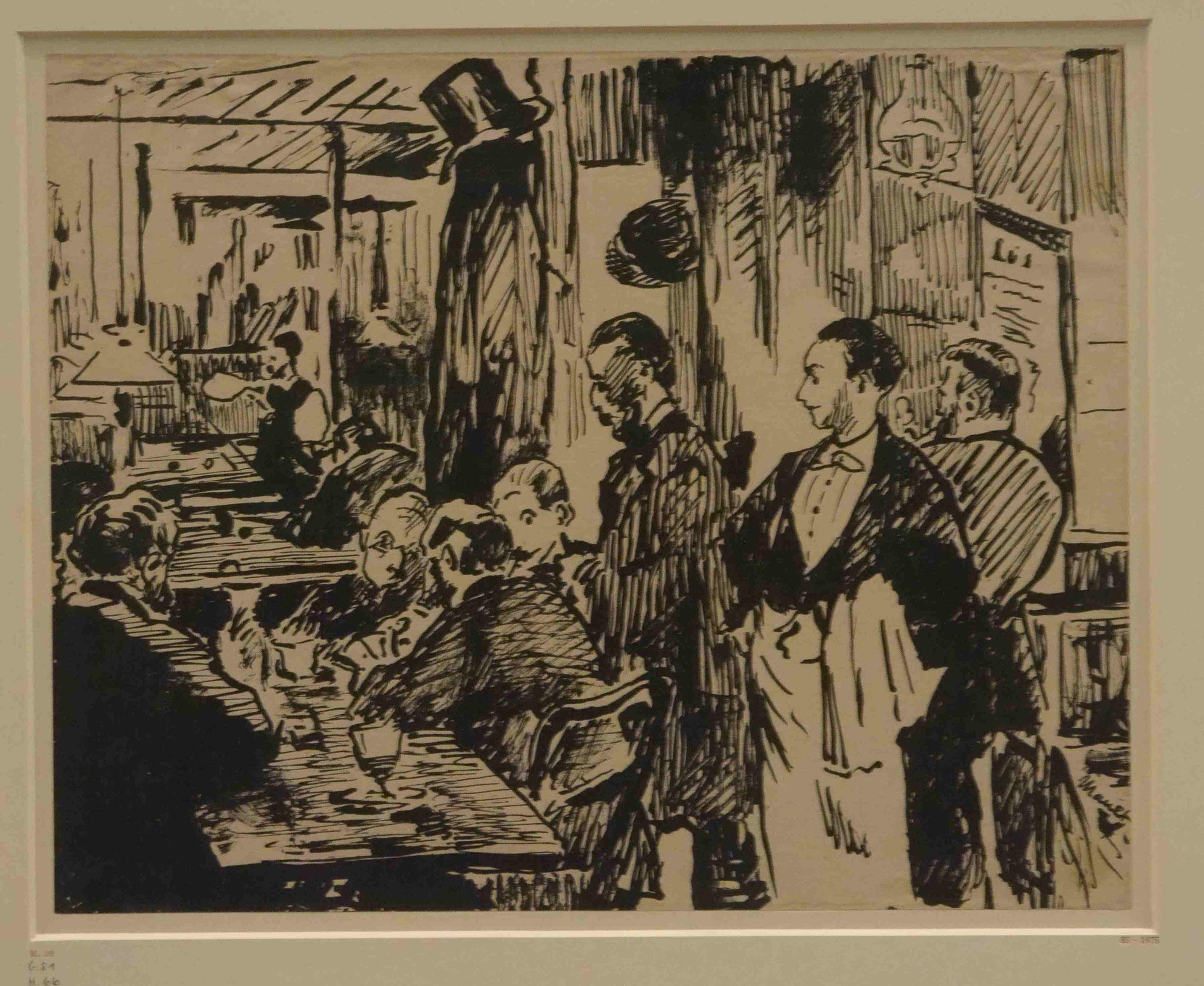 Edouard Manet, ImEx, Kupferstichkabinett Berlin