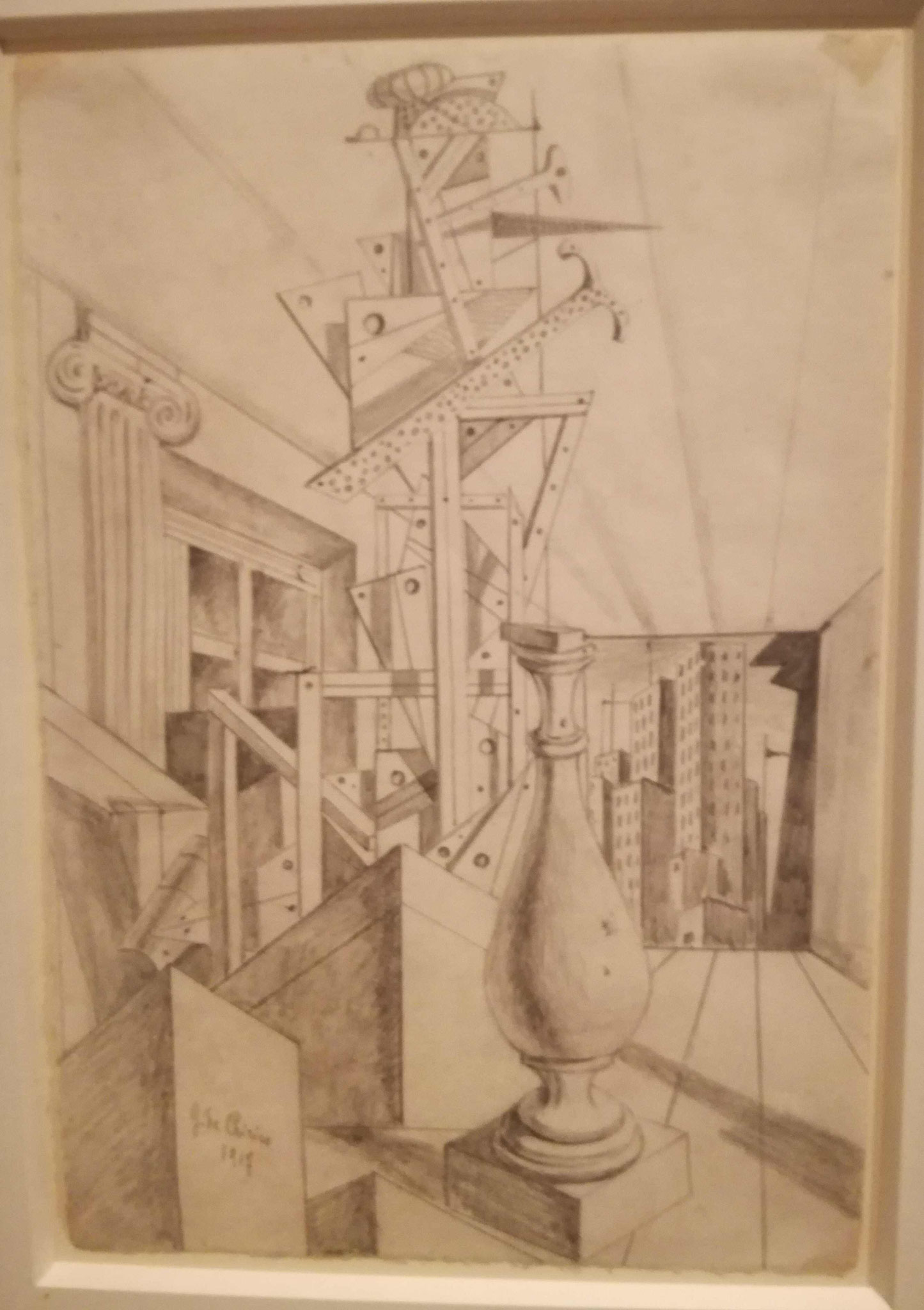 Giorgio de Chirico, Sammlung Scharf-Gerstenberg, Nationalgalerie Berlin
