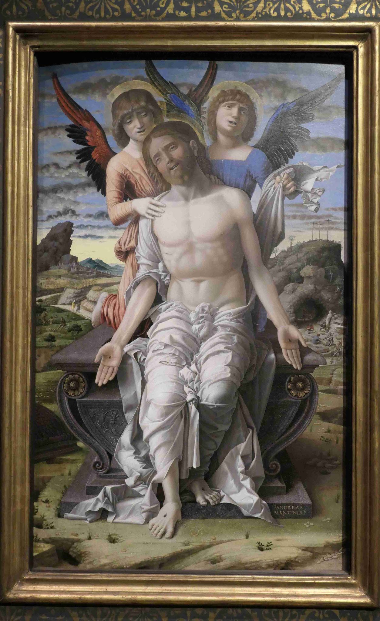 Andrea Mantegna, Chrsitus als Schmerzensmann, um 1485/1500