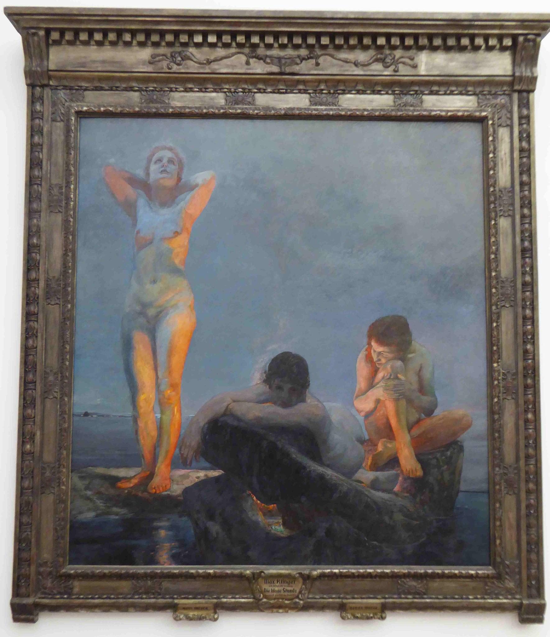 Max Klinger, Die Blaue Stunde, Museum der Bildenden Künste, Leipzig