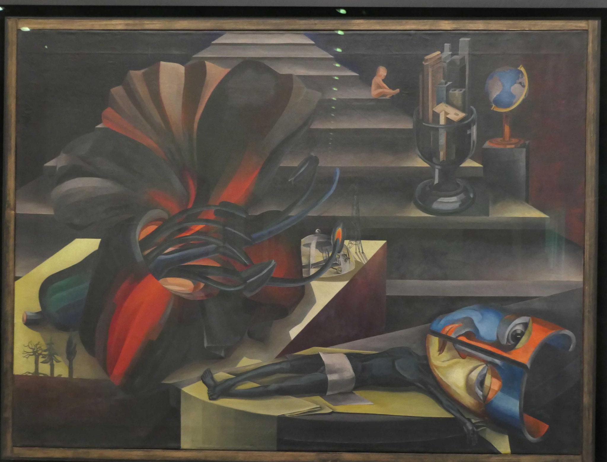 Hannah Höch, Die Treppe, 1923-26, Neue Nationalgalerie Berlin