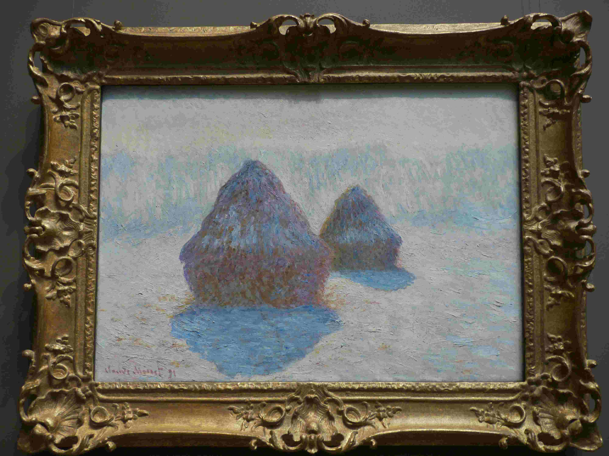 Claude Monet, Met