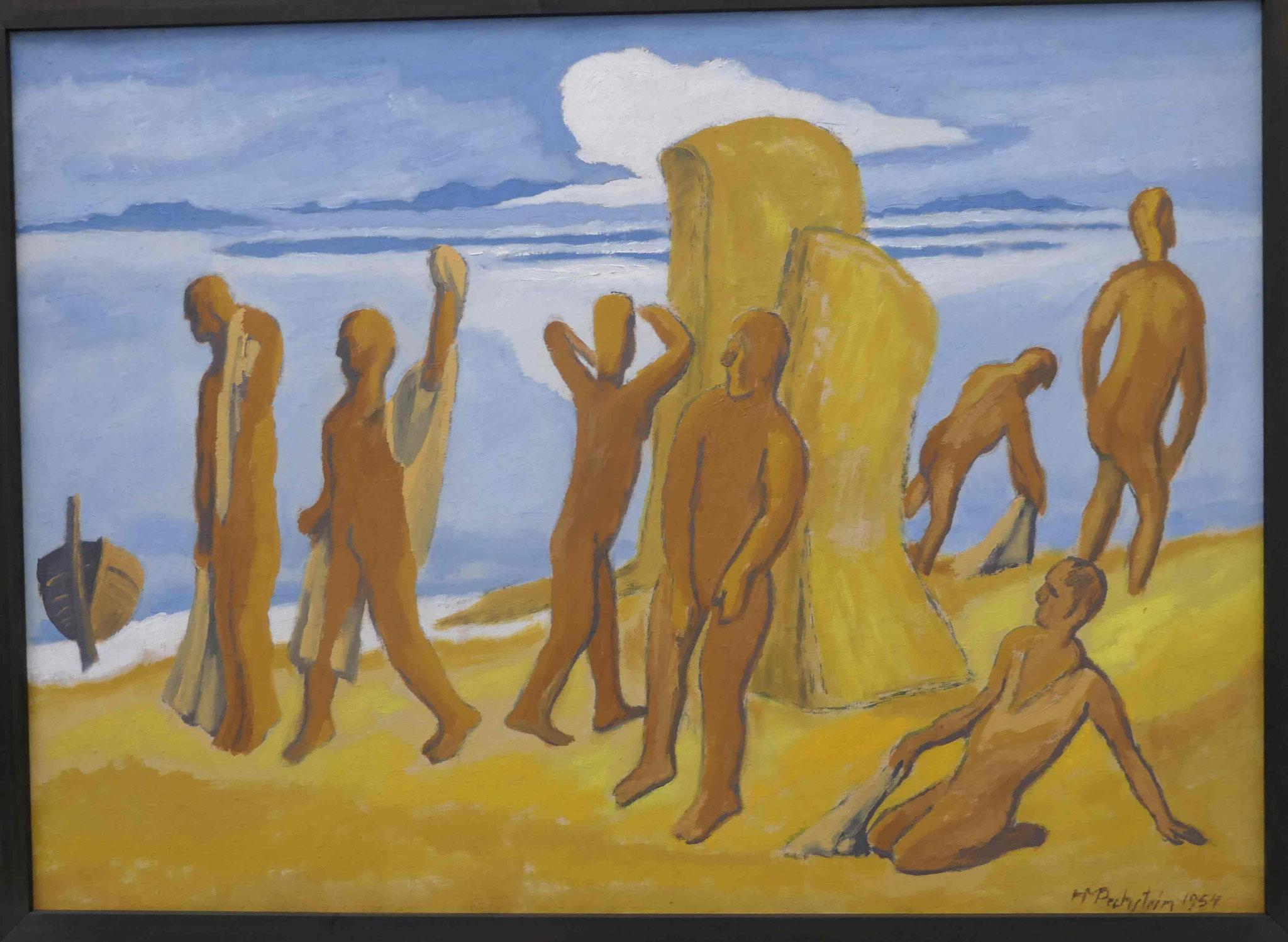 Max Pechstein, Am Strand, Kunsthalle zu Kiel
