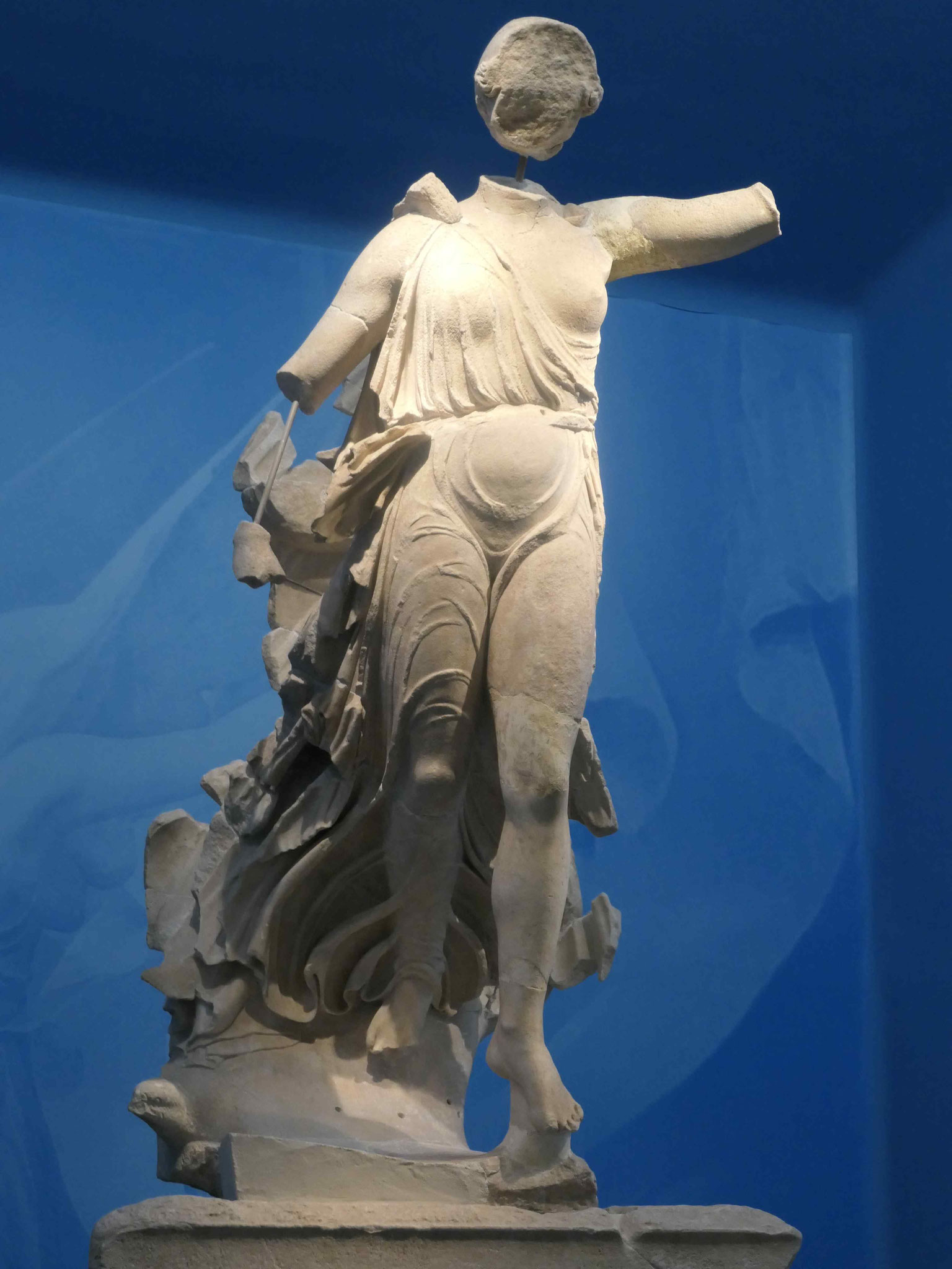 Siegesgöttin im Antikenmuseum in Olympia