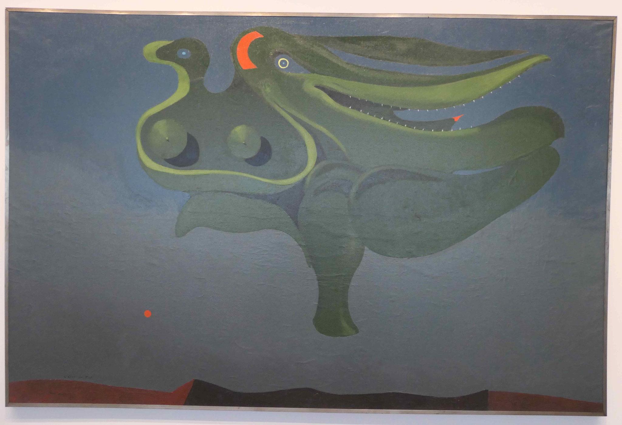 Max Ernst, Die Erwählte des Bösen, 1928, Neue Nationalgalerie Berlin