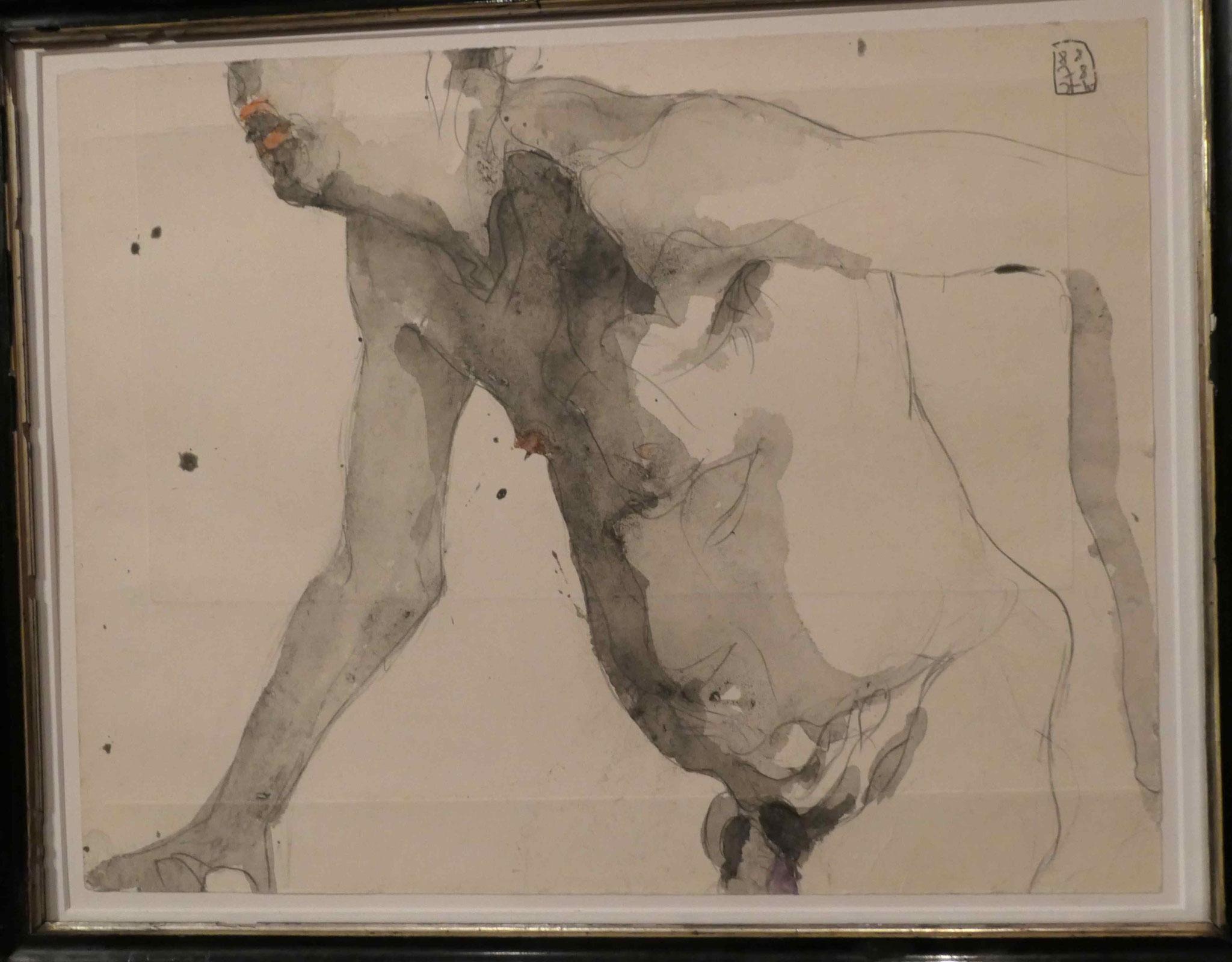 """Horst Janssen, Sonderausstellung """"Lebensklekse-Todeszeichen"""", Sammlung Scharf-Gerstenberg, Berlin"""