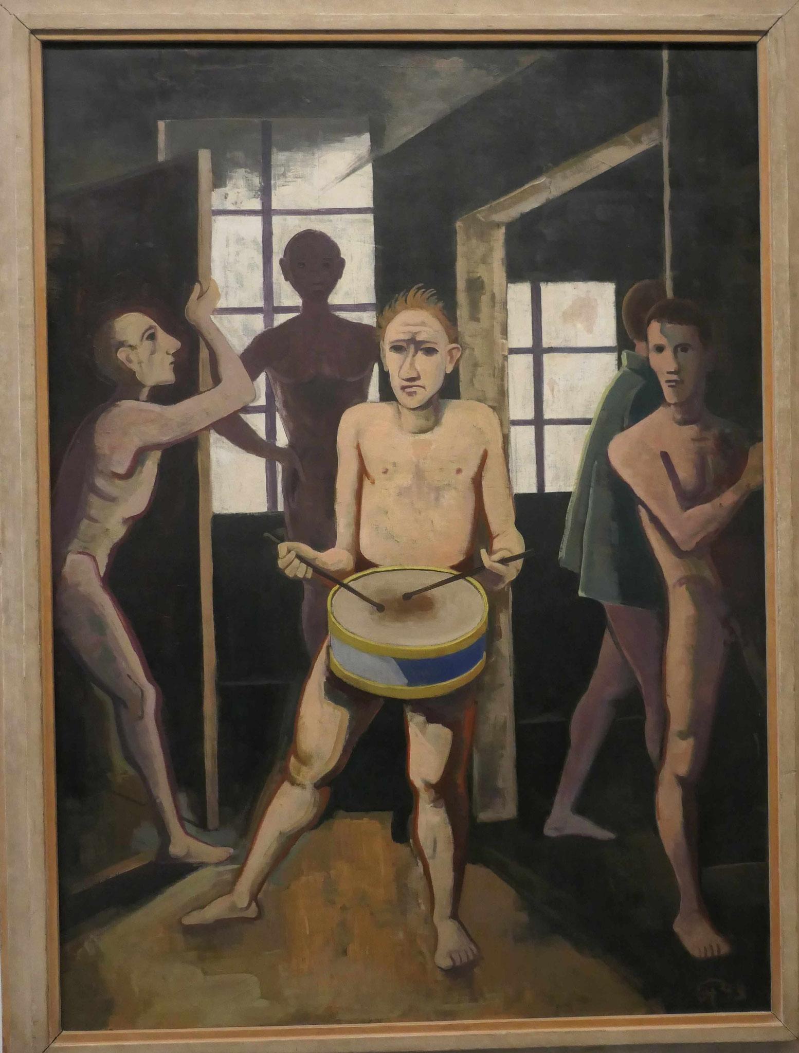 Karl Hofer, Die schwarzen Zimmer,2. Fassung 1943, Neue Nationalgalerie Berlin