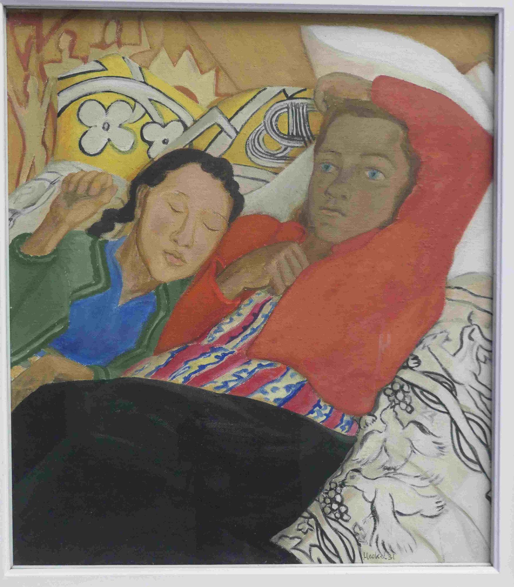 Erich Heckel, Frau und Kind, 1921 Kunsthalle zu Kiel