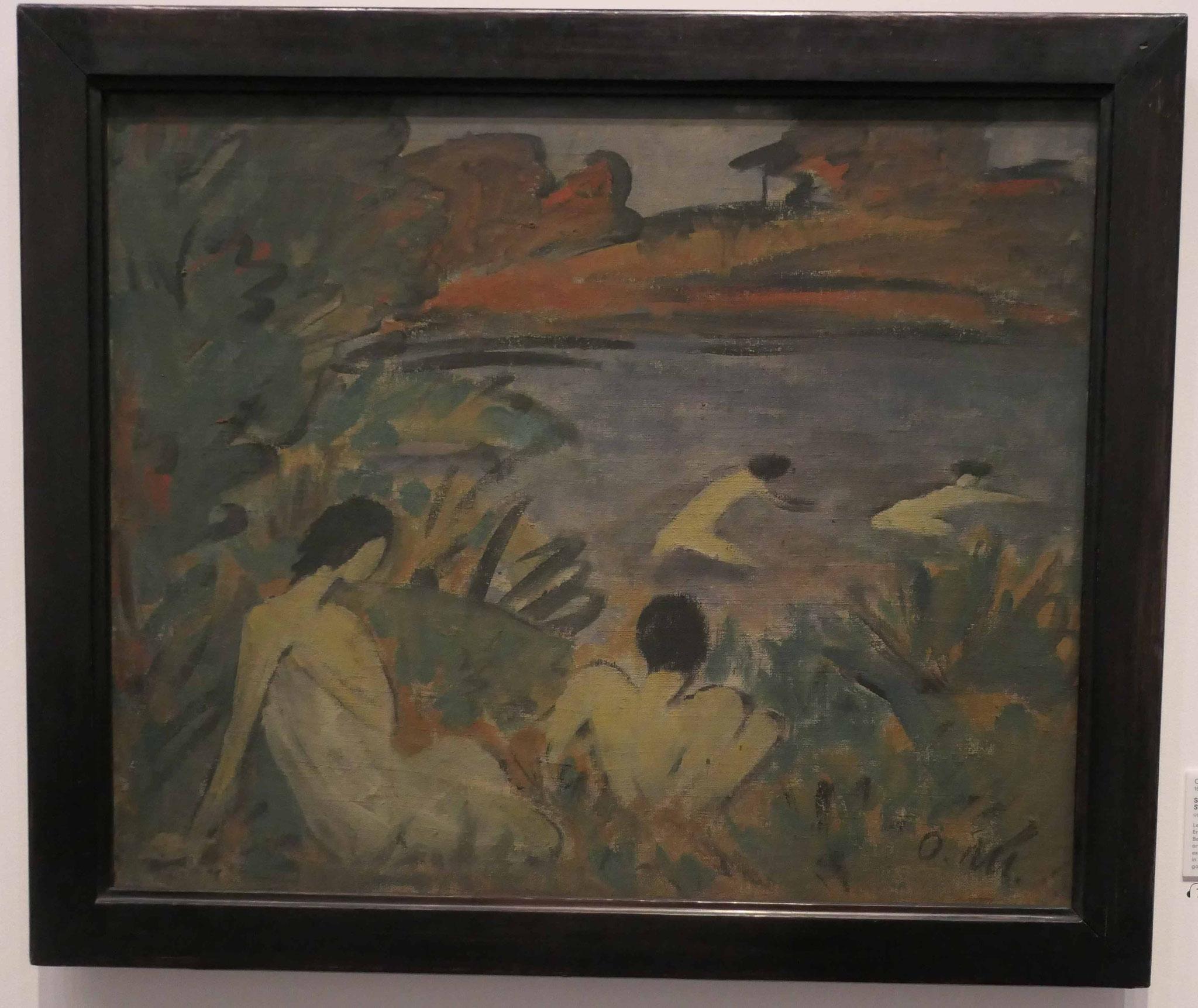 Otto Mueller, Sommertag 1922, Nationalgalerie Berlin