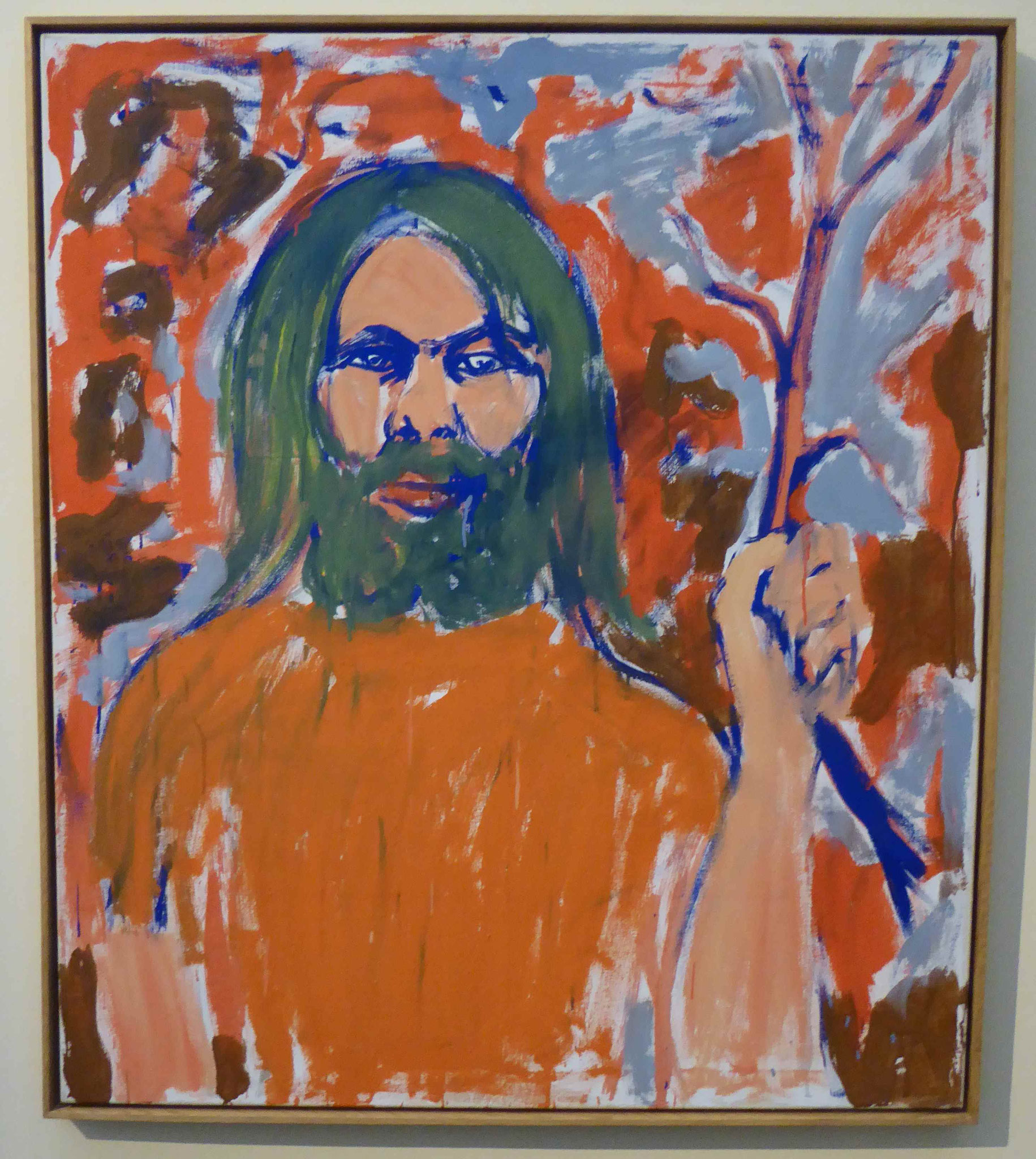 A.R. Penck, Selbstbildnis, 1976, Museum Moritzburg, Halle