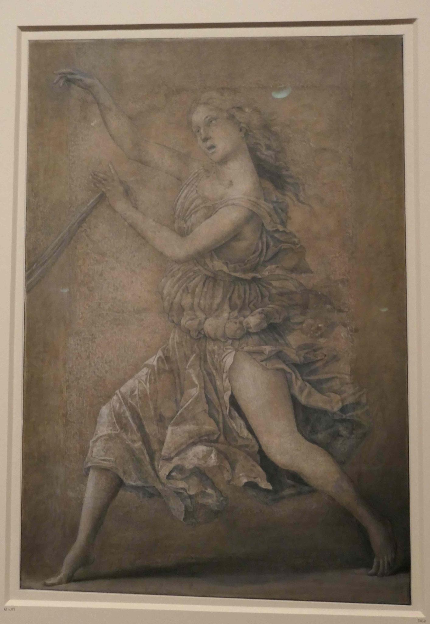 Andrea Mantegna, Tanzende Muse, um 1497