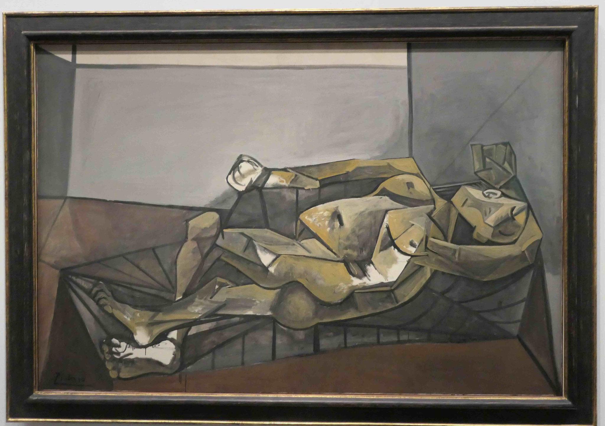Pablo Picasso, Großer liegender Akt, 1942, Neue Nationalgalerie Berlin