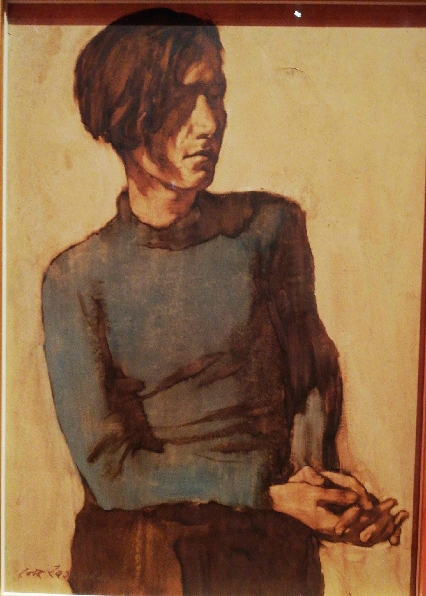 Lotte Laserstein, Traute im grünen Pullover, um 1931
