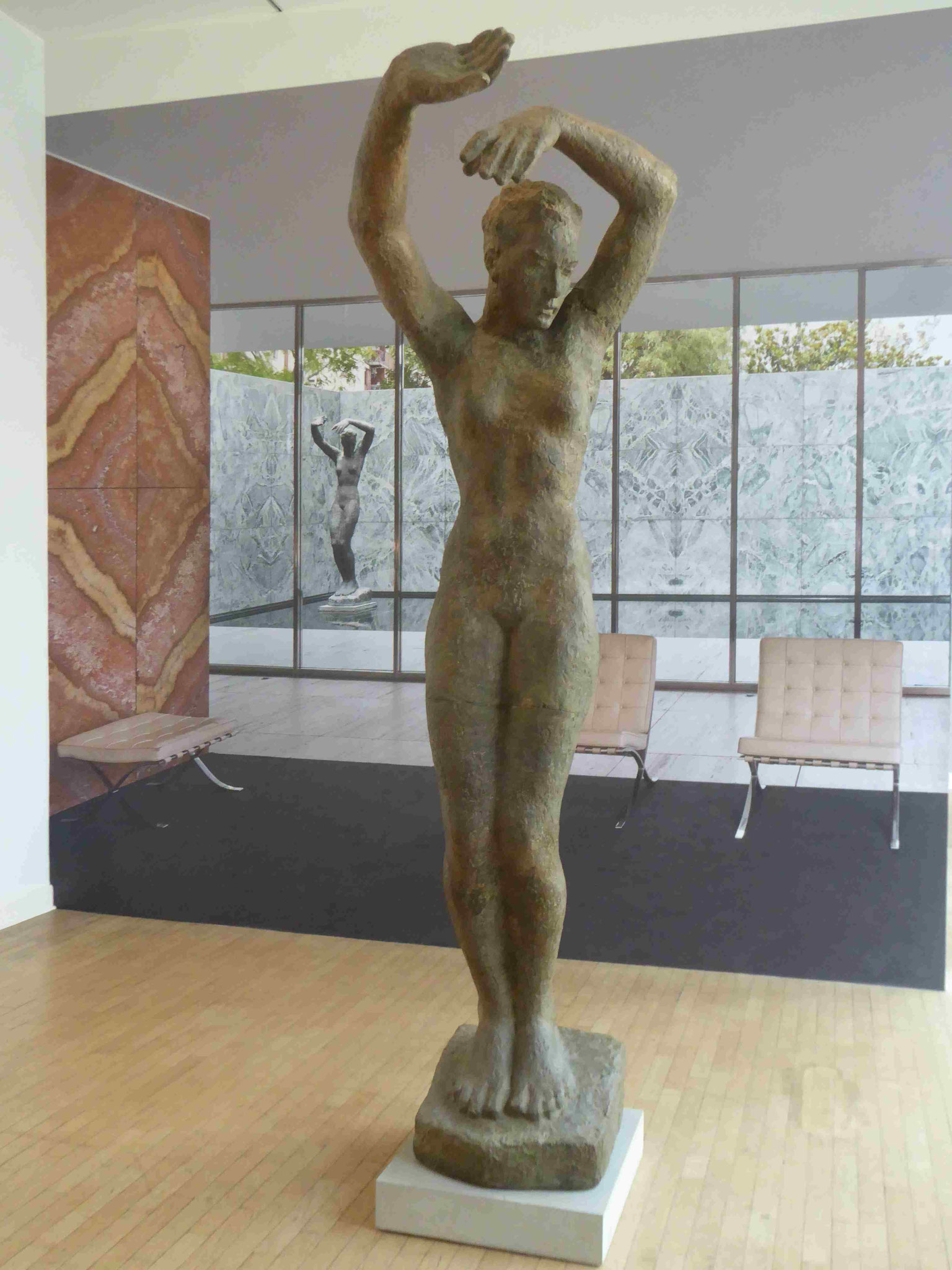 Georg Kolbe, Tänzerin für die Weltausstellung in Barcelona, Kolbe-Museum, Berlin