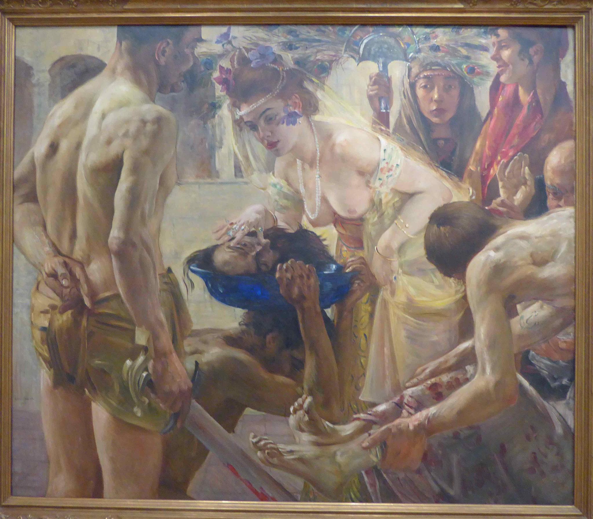 Lovis Corinth: Salome und Johannes, Museum für Bildende Kunst, Leipzig