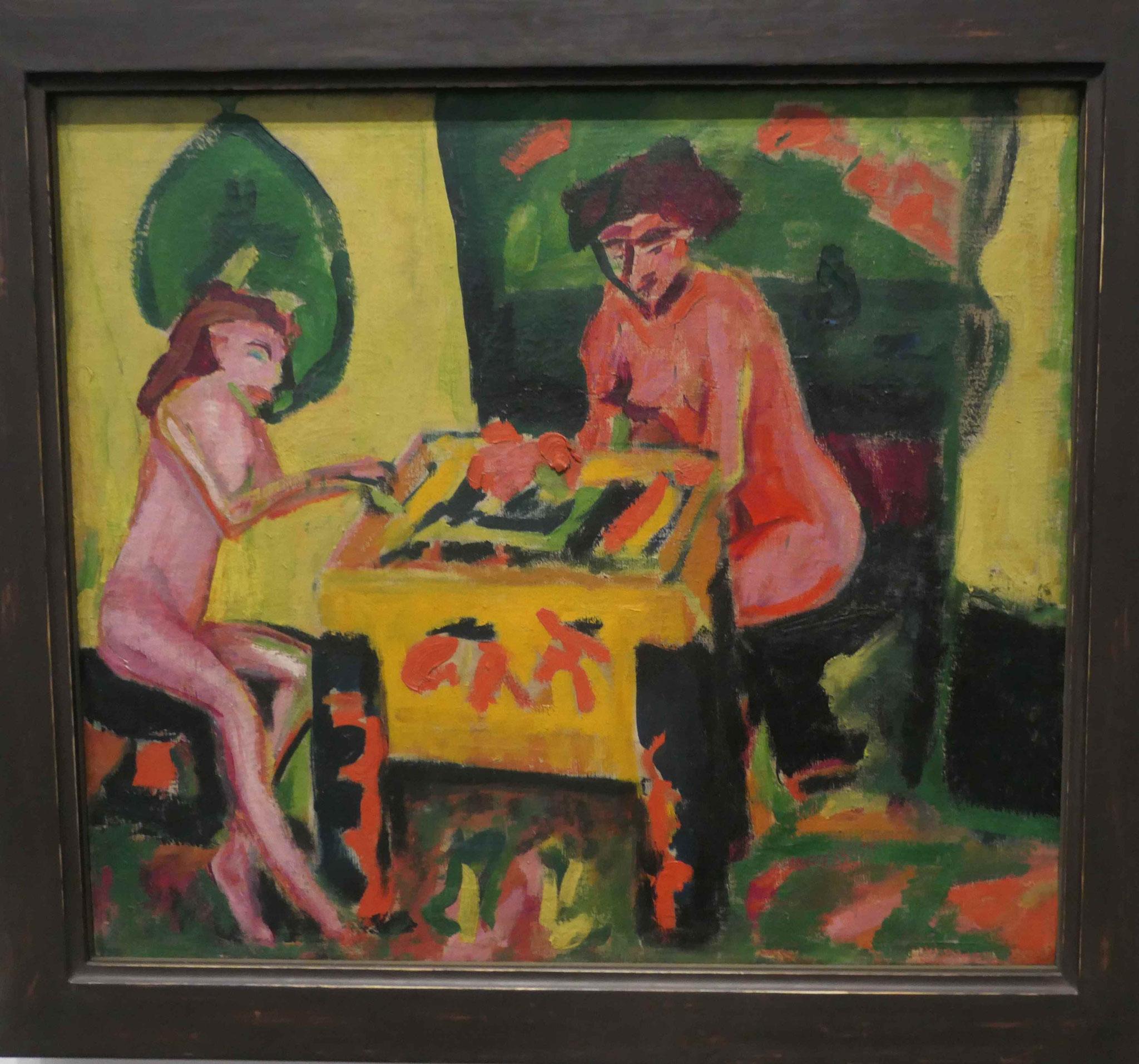 Erich Heckel, Die beiden Schwestern, 1910, Neue Nationalgalerie Berlin