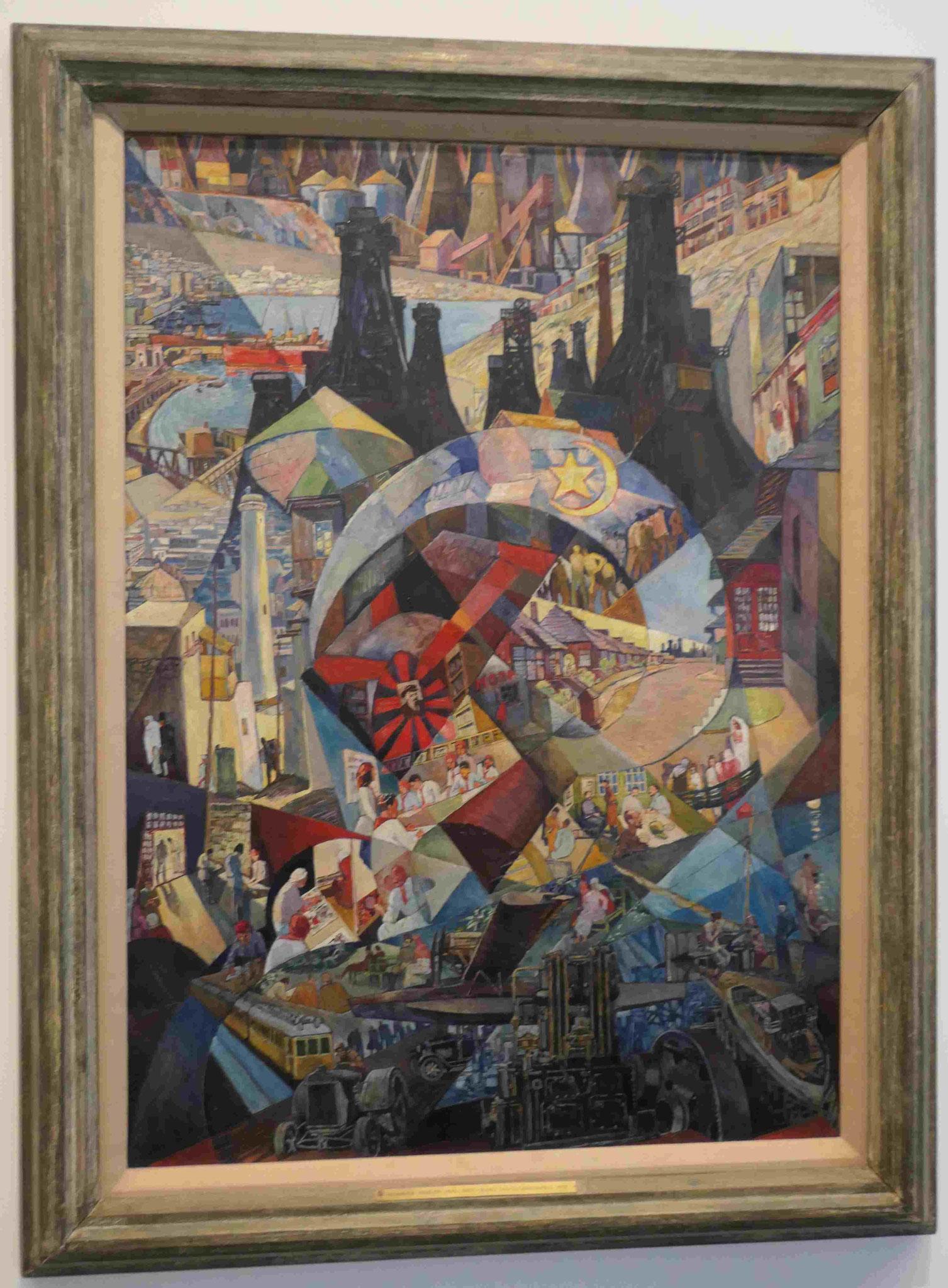 Heinrich Vogeler, Baku, 1927, Nationalgalerie Berlin